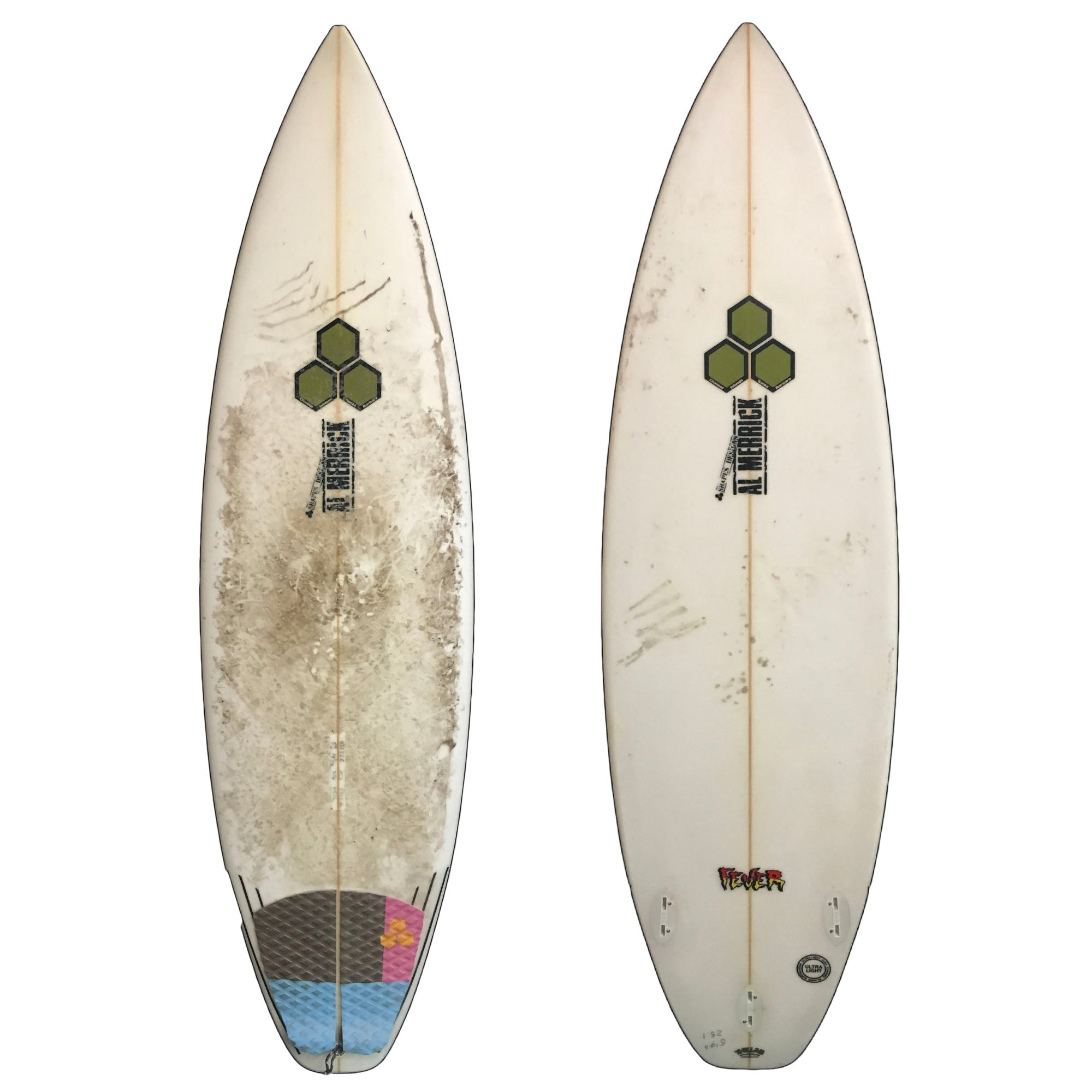 Channel Islands Fever 5'9 Used Surfboard (Team custom)