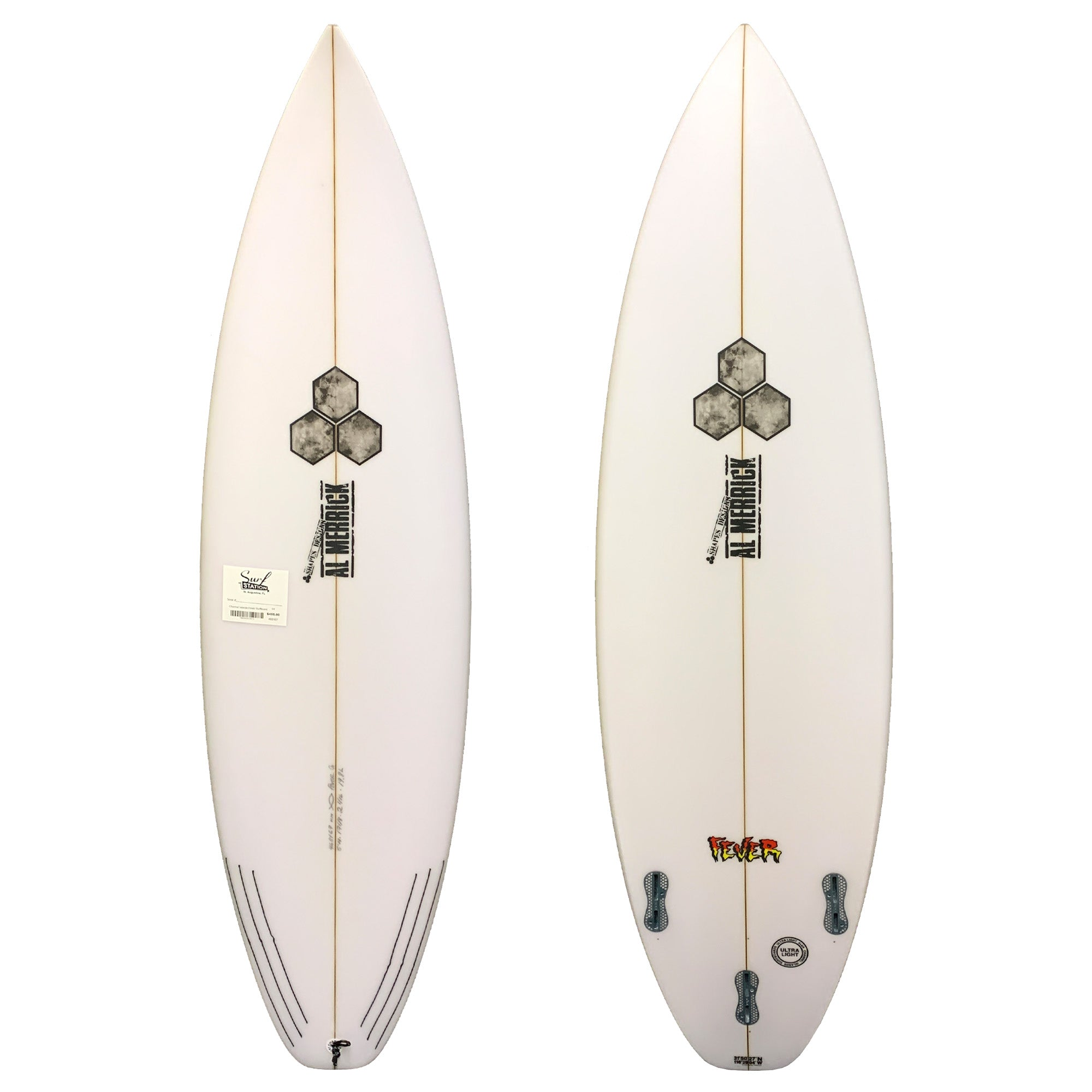 Channel Islands Fever Grom Surfboard - FCS II