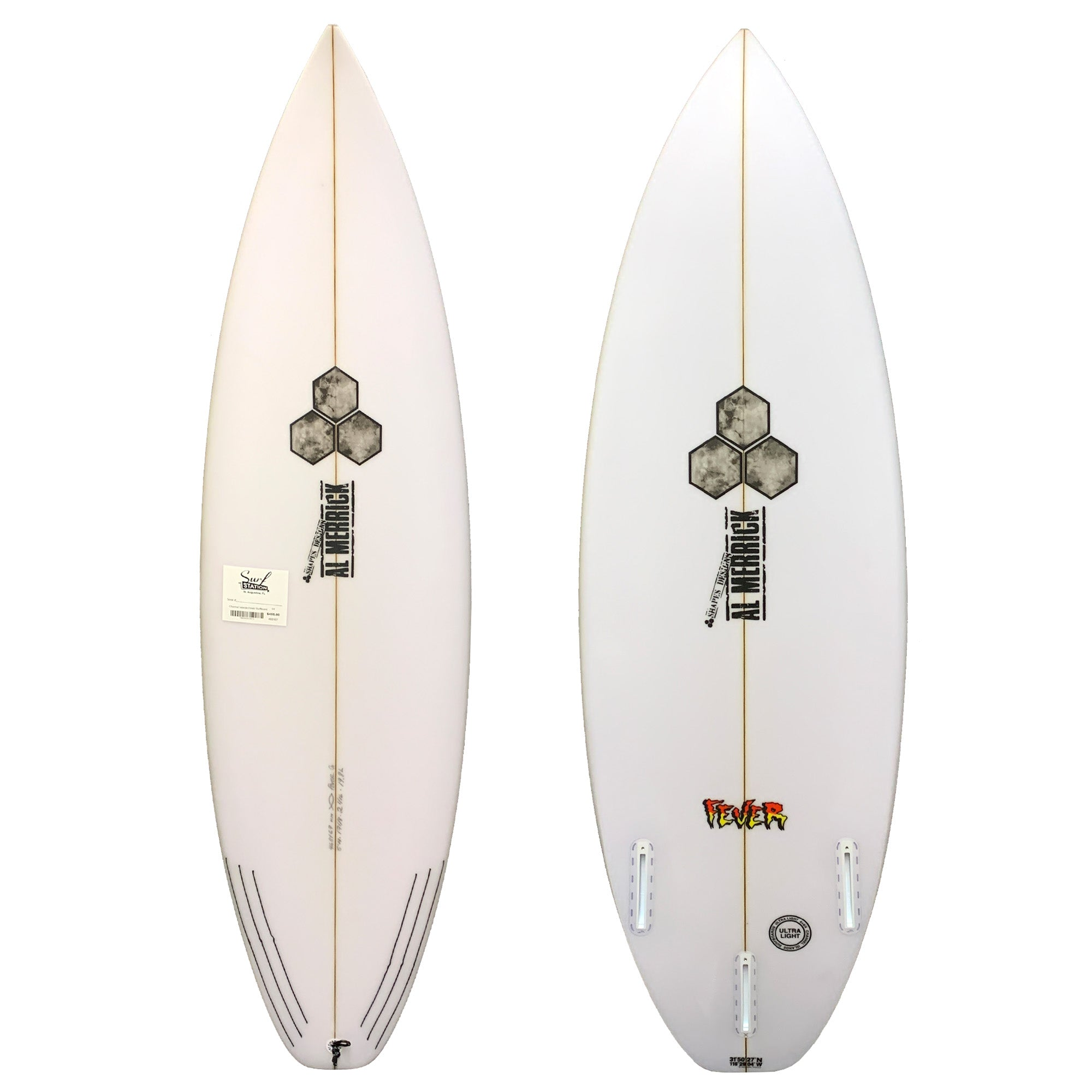 Channel Islands Fever Grom Surfboard - Futures