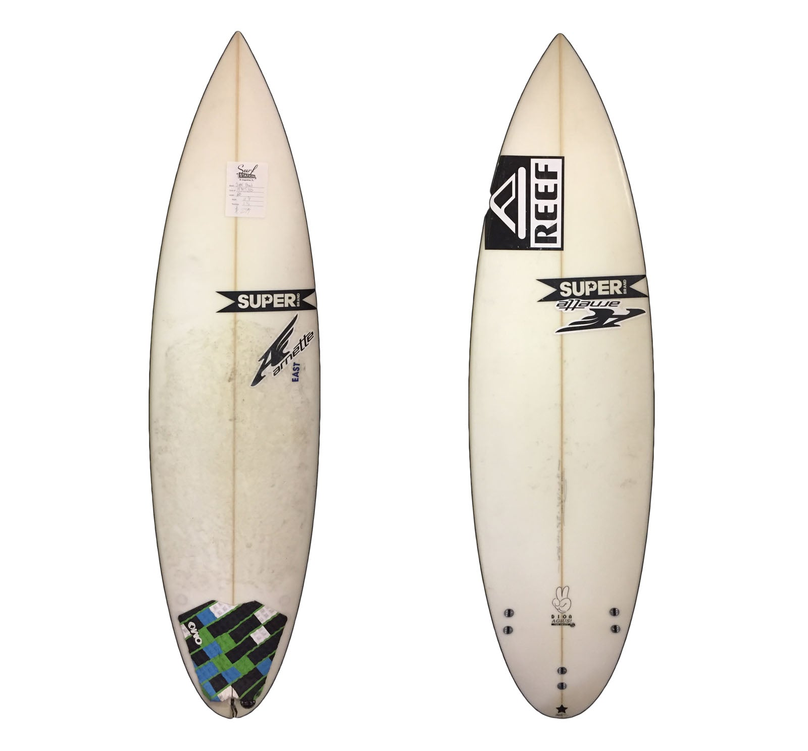 Super Brand The Craft 6'0 Used Surfboard