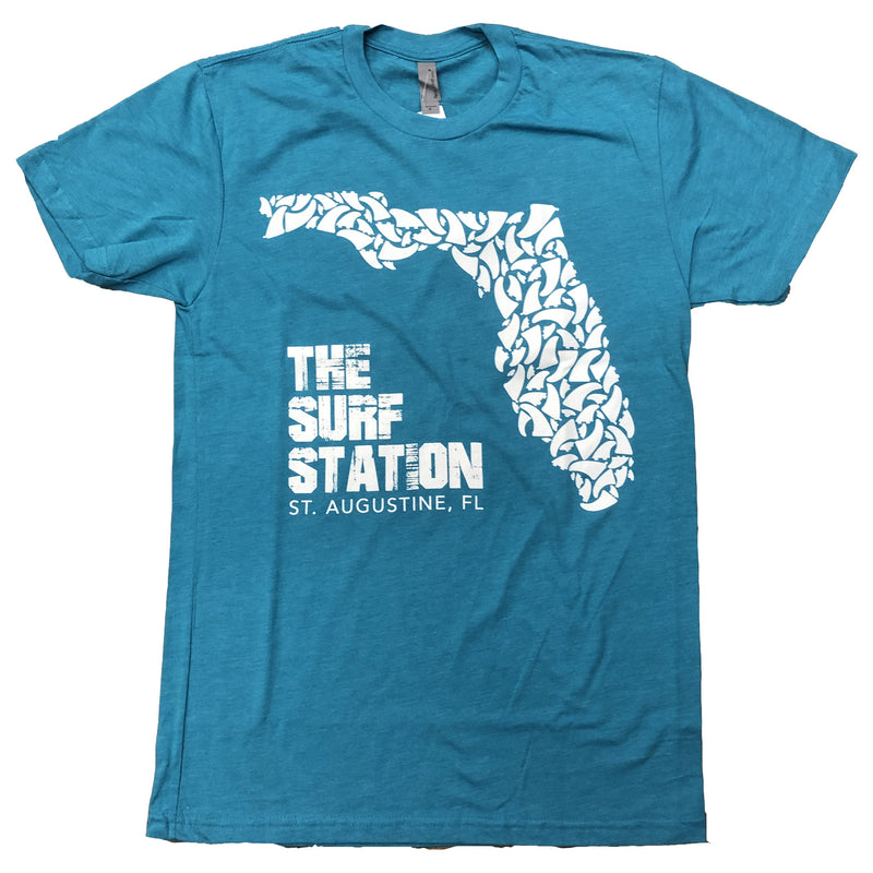 Surf Station Fin Guy Men's S/S T-Shirt