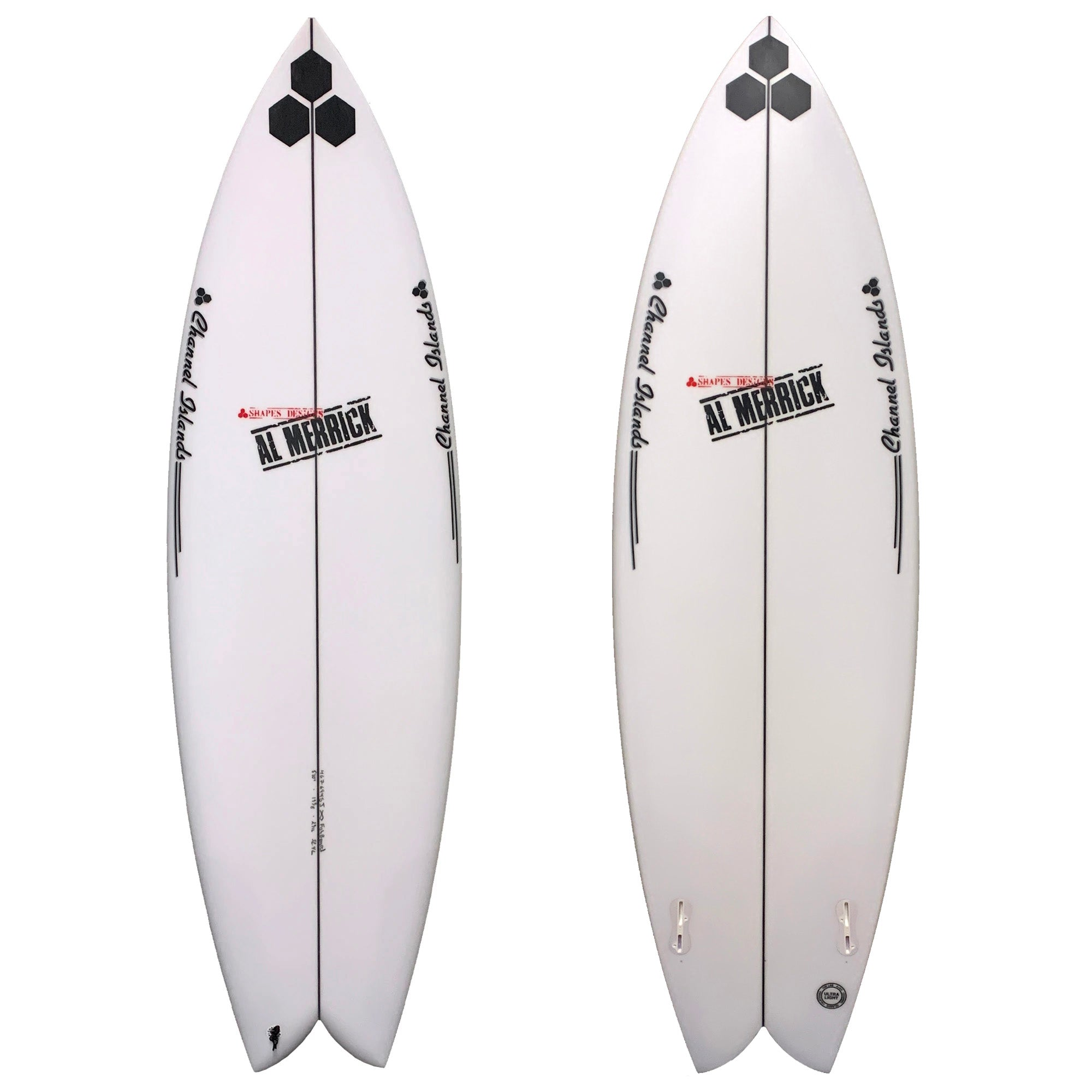 Channel Islands FishBeard Surfboard - FCS II