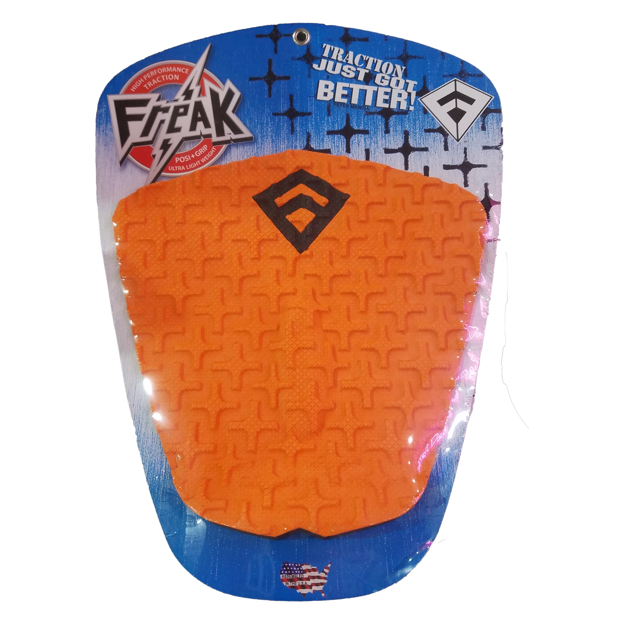 Freak Peter Mendia II 1-Piece Flat Traction Pad - Orange