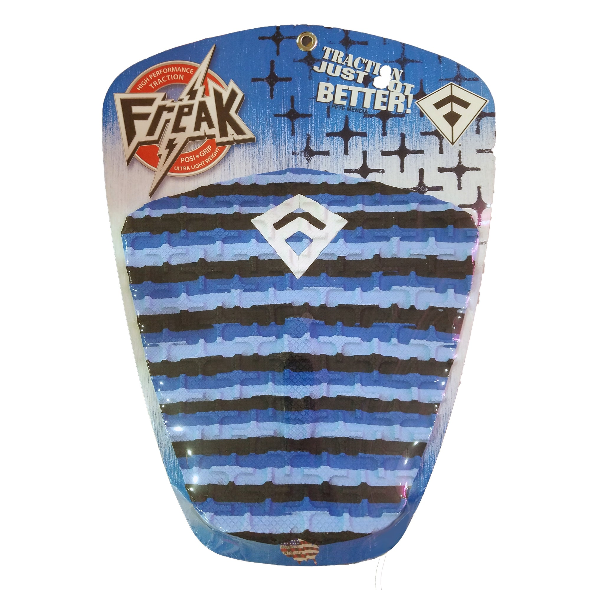 Freak Peter Mendia 3-Piece Traction Pad - Blue/Blue/Black