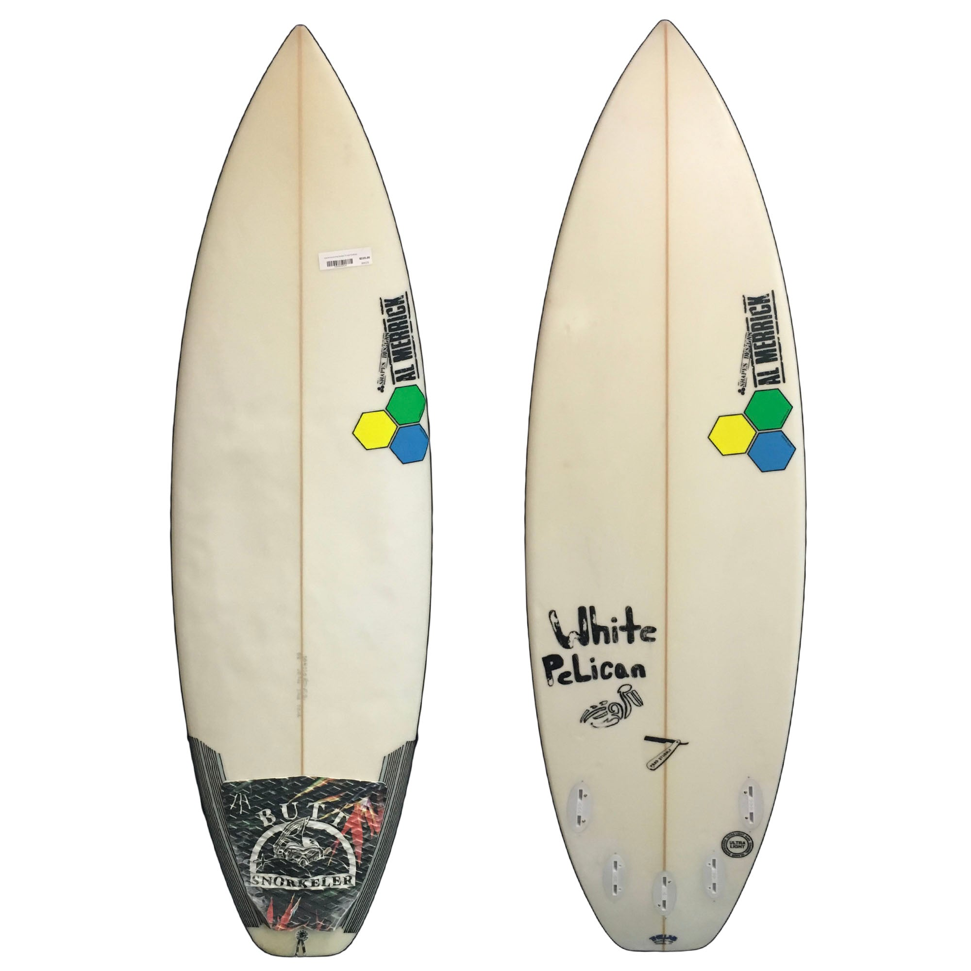 Channel Islands Fred Stubble 5'6 Used Surfboard