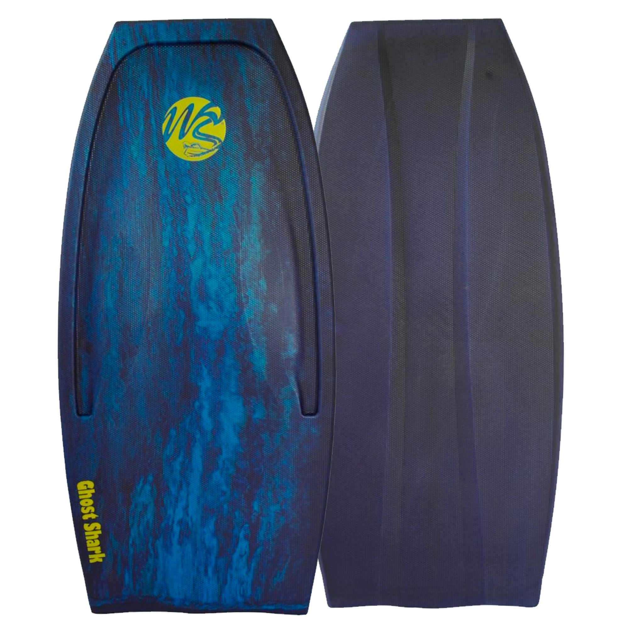 "Wave Skater Pro Ghost Shark 48"" Bodyboard - Aqua/Navy"