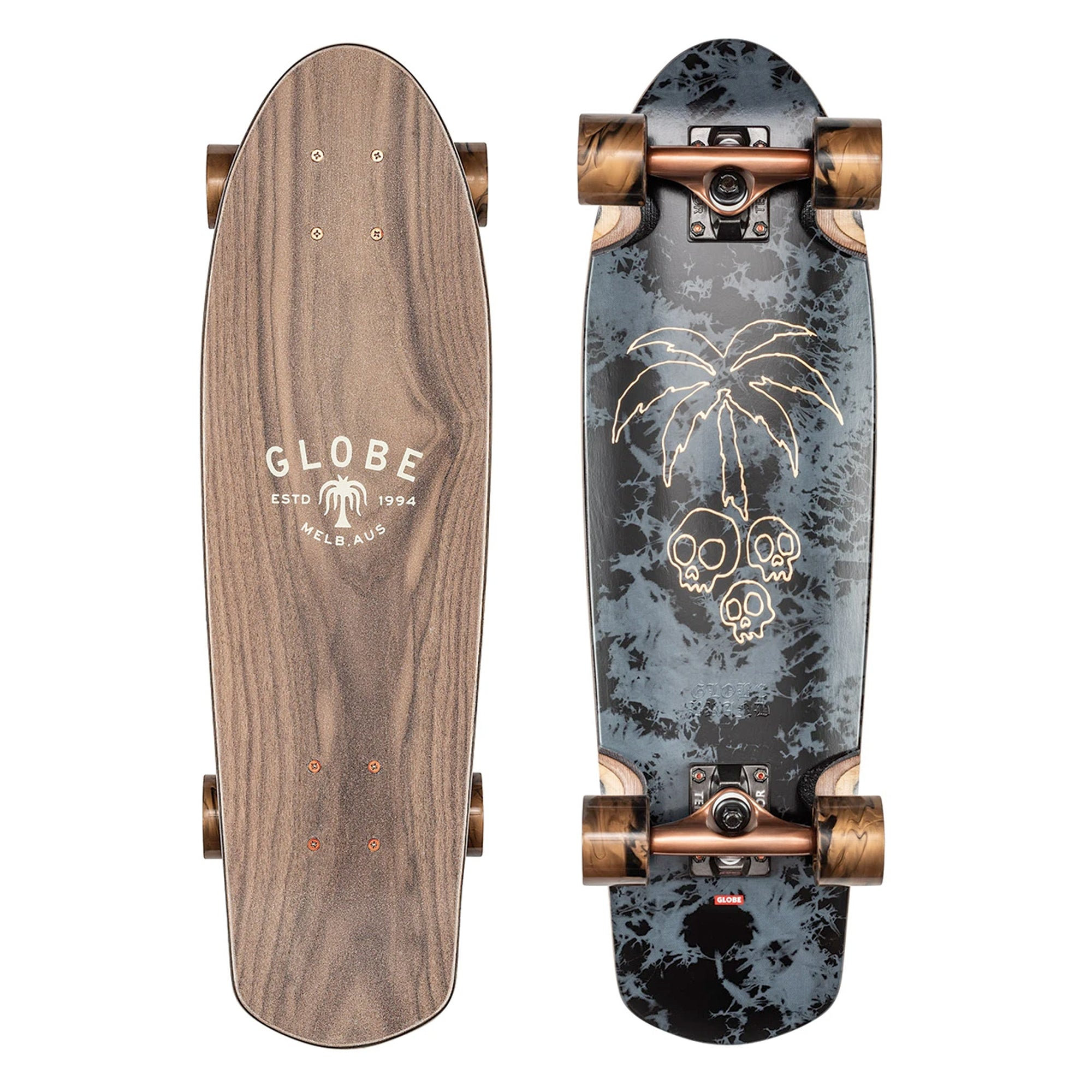 "Globe Trooper 27"" Cruiser Complete Skateboard - Natives"
