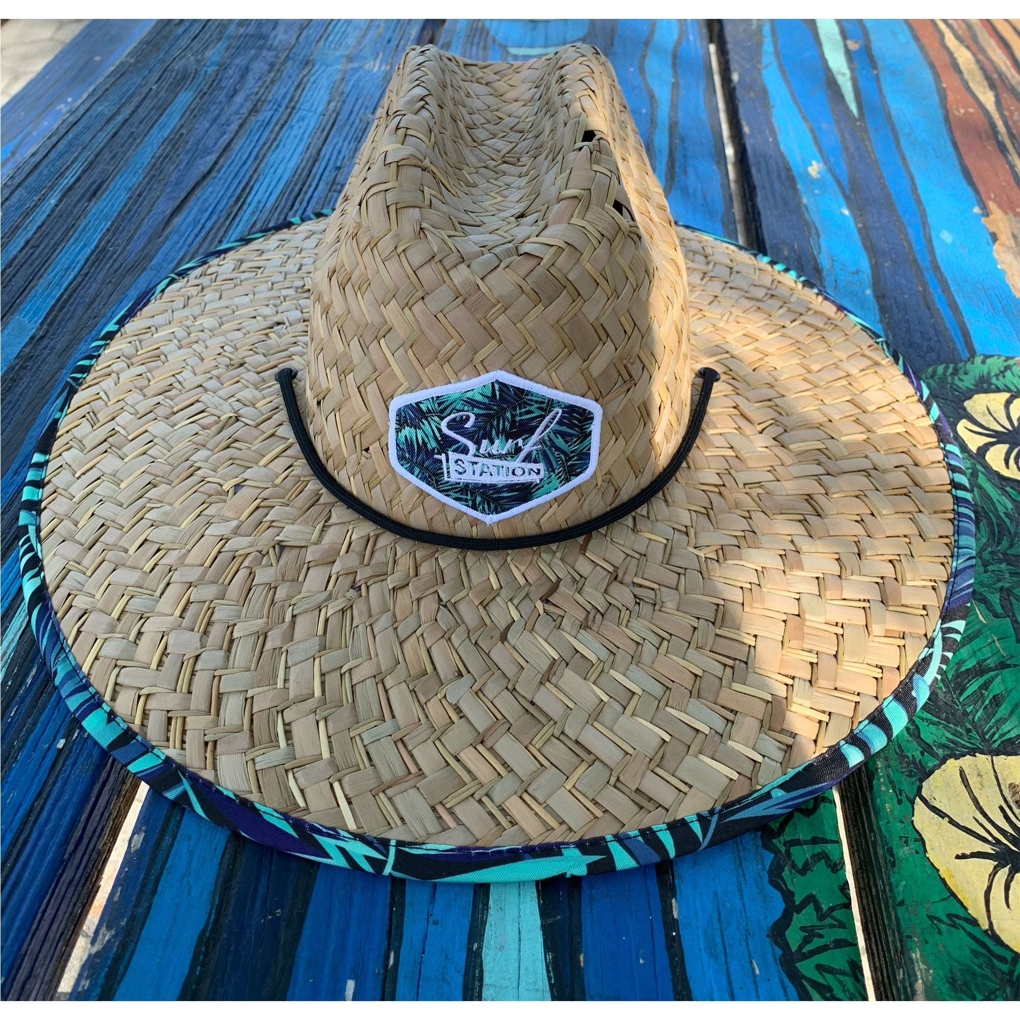 Surf Station Lifeguard Straw Hat