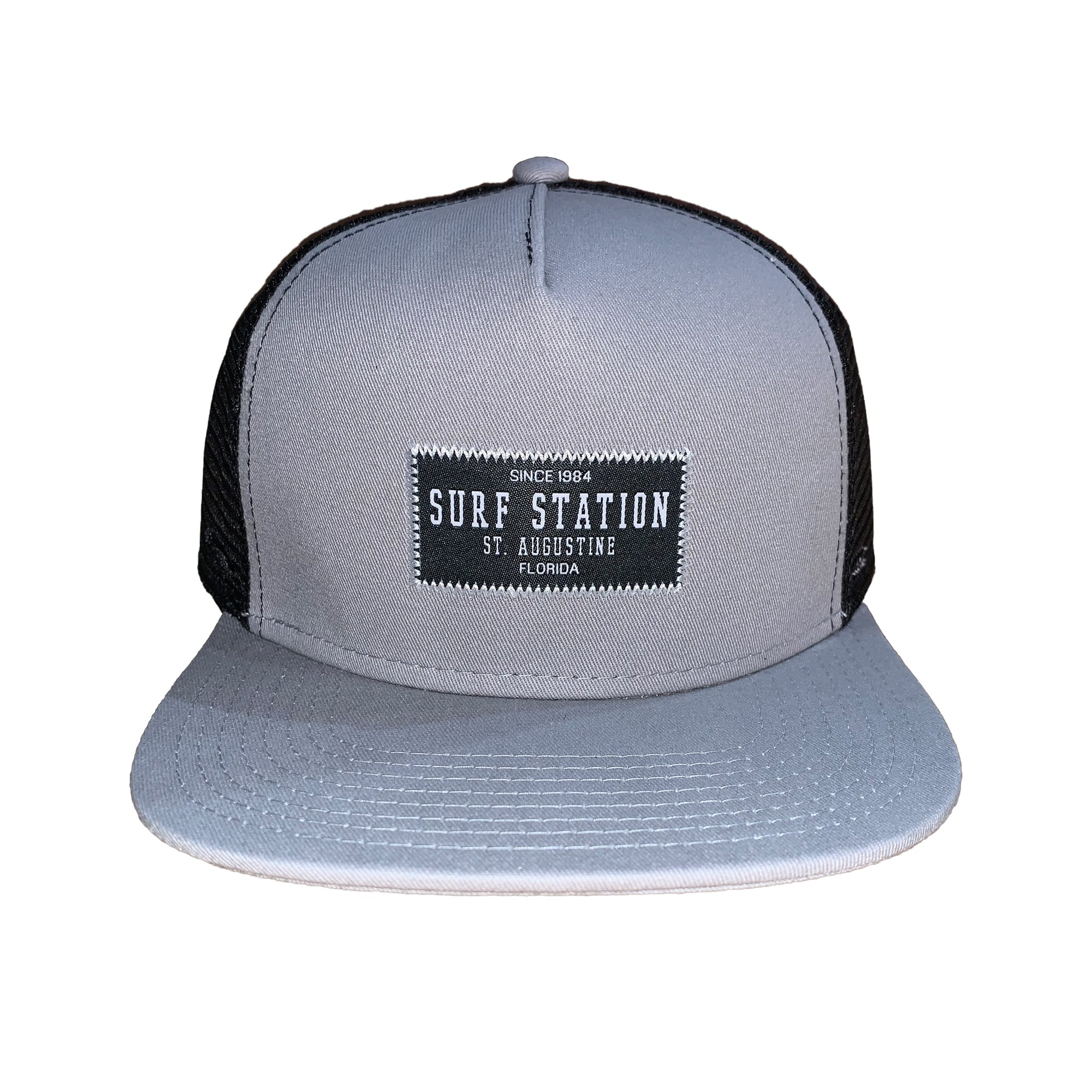 Surf Station Stitch Patch Men's Snapback Hat
