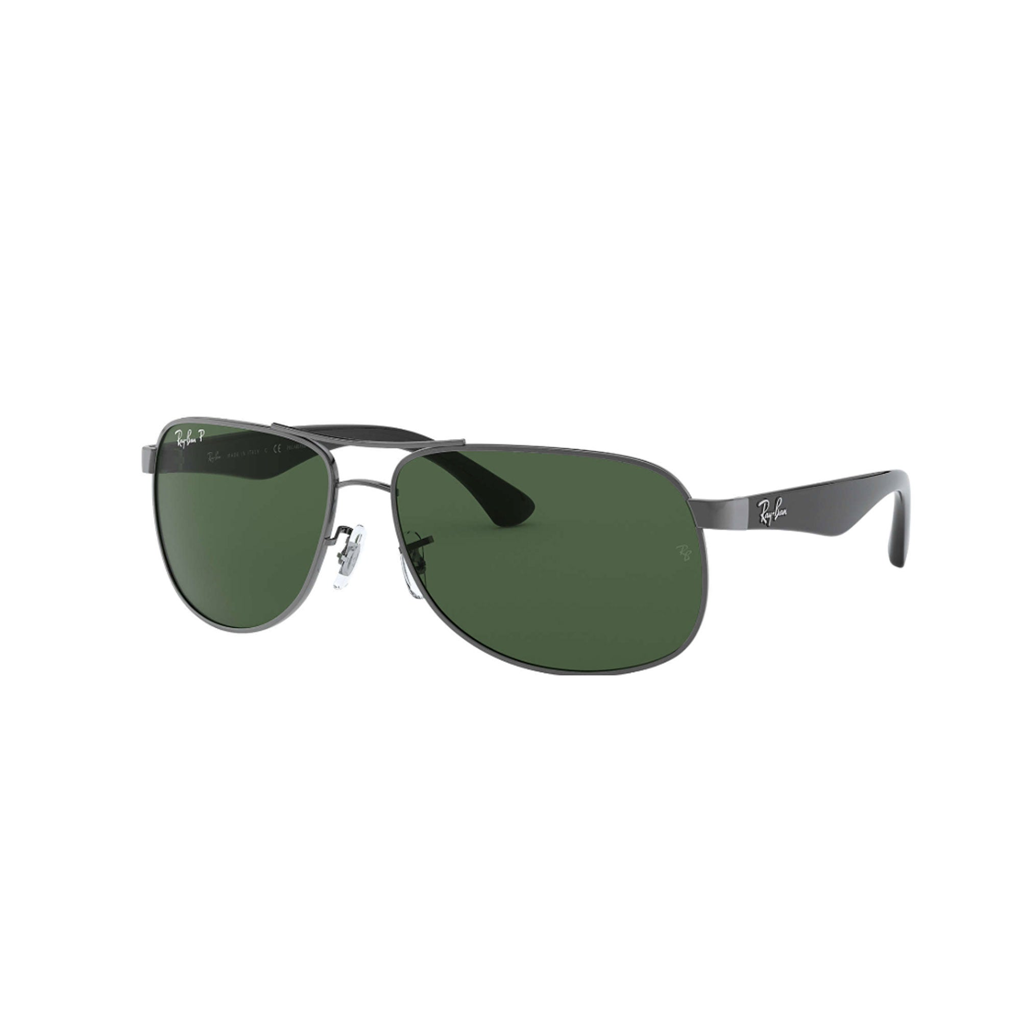 Ray-Ban 3502 Classic Men's Sunglasses - Gunmetal/Green
