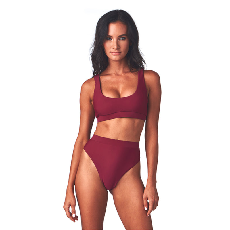 H2oh! Colours Barcelona Women's Banded Bikini Top