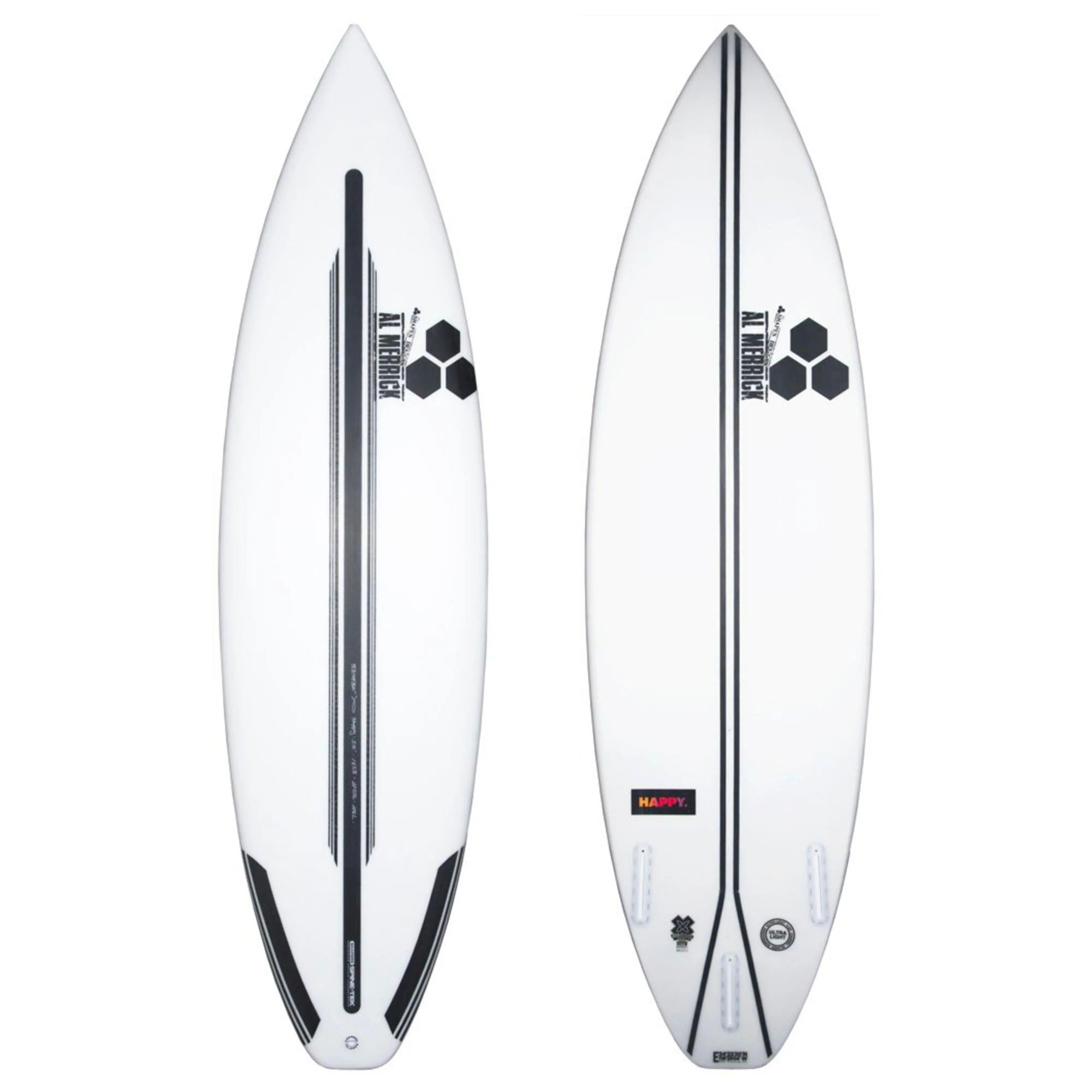 Channel Islands Happy Plus Spine-Tek Surfboard - Futures
