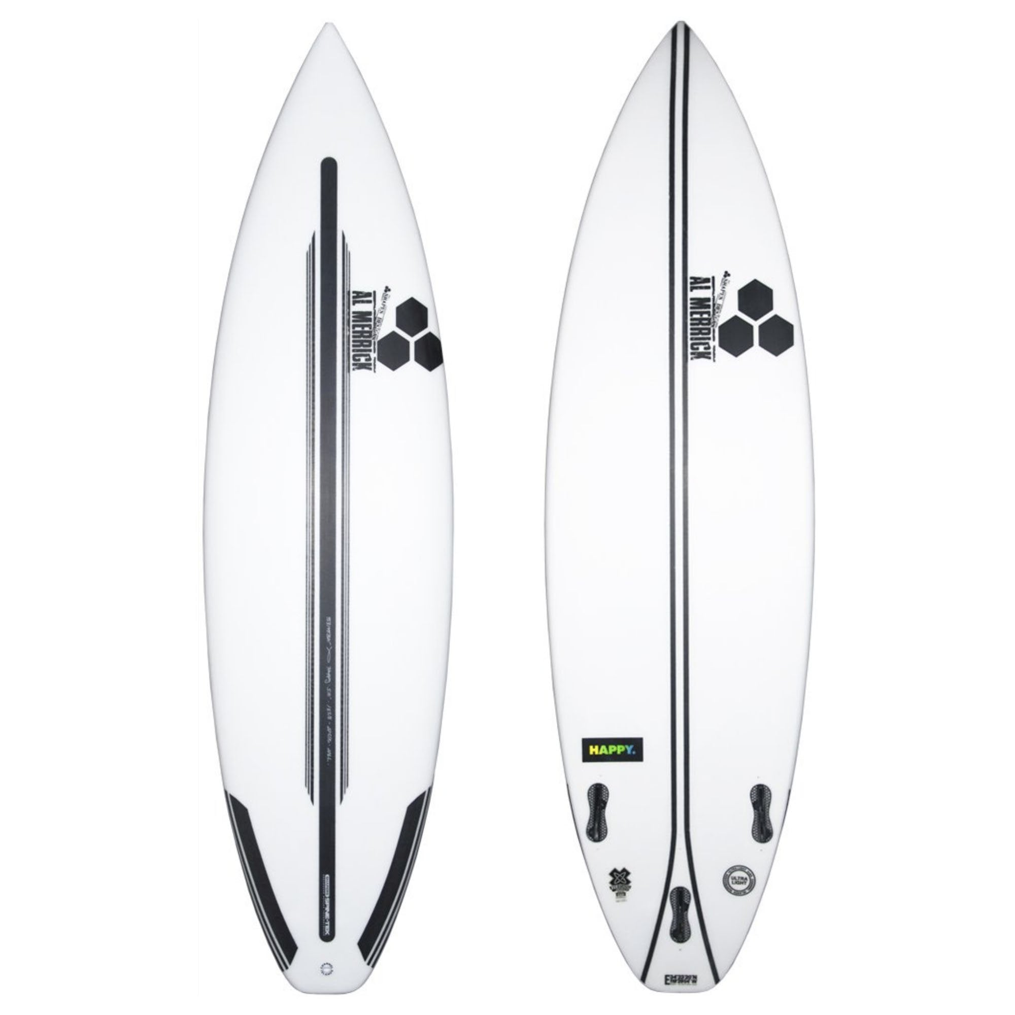 Channel Islands Happy Plus Spine-Tek Surfboard - FCS II
