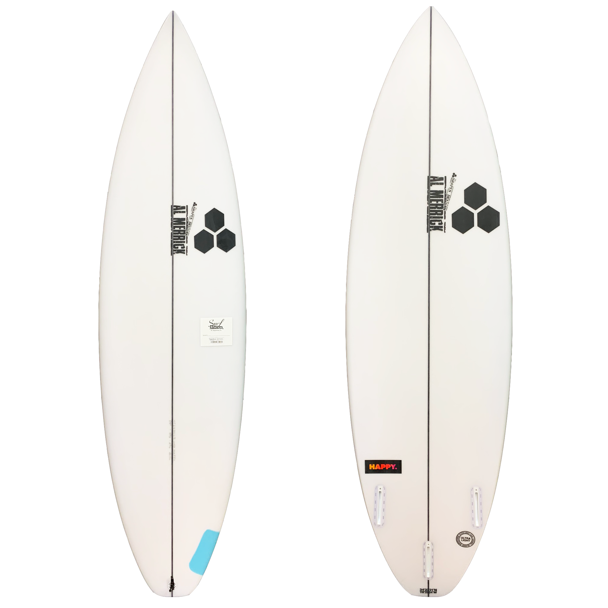 Channel Islands Happy Plus Surfboard - Futures