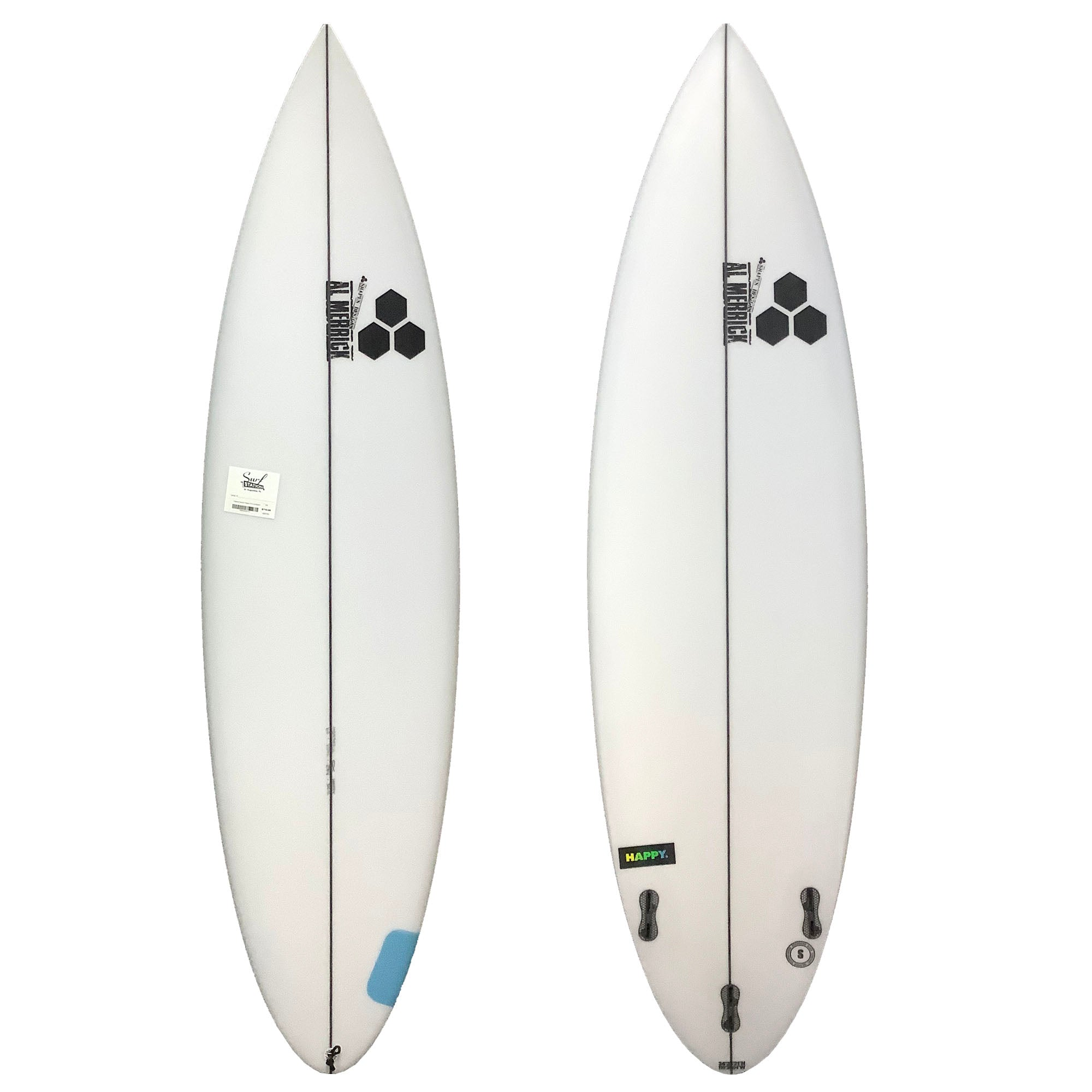 Channel Islands Happy Step-Up Surfboard - FCS II