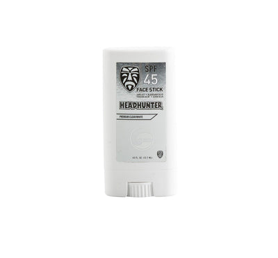 Headhunter SPF 45+ Face Stick - Clear/White