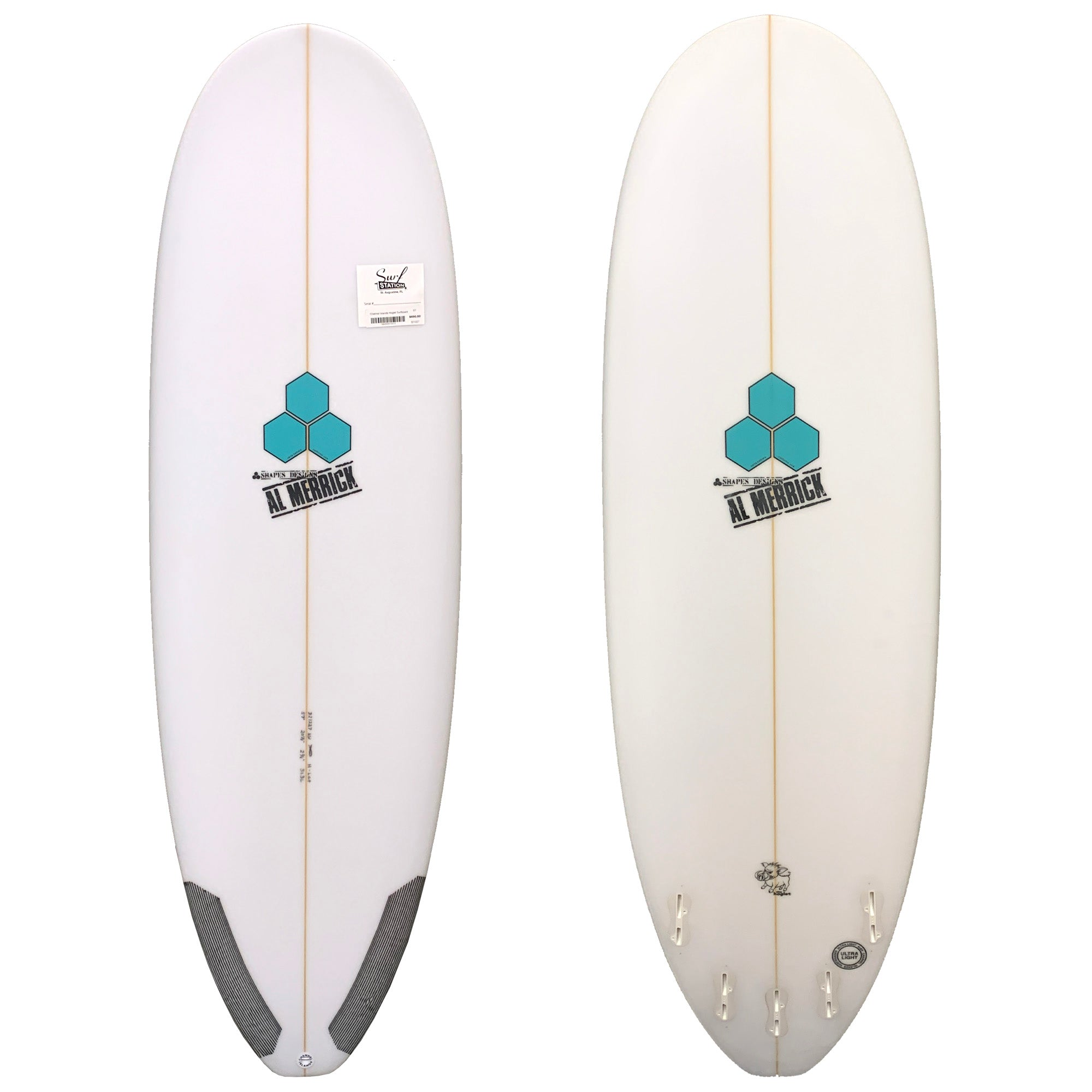 Channel Islands Hoglet Surfboard - FCS II