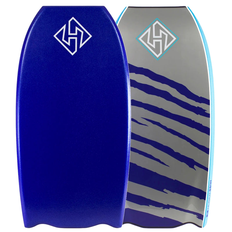 "Hubb PP Pro Bat-Tail 41"" Bodyboard - Blue/Grey"