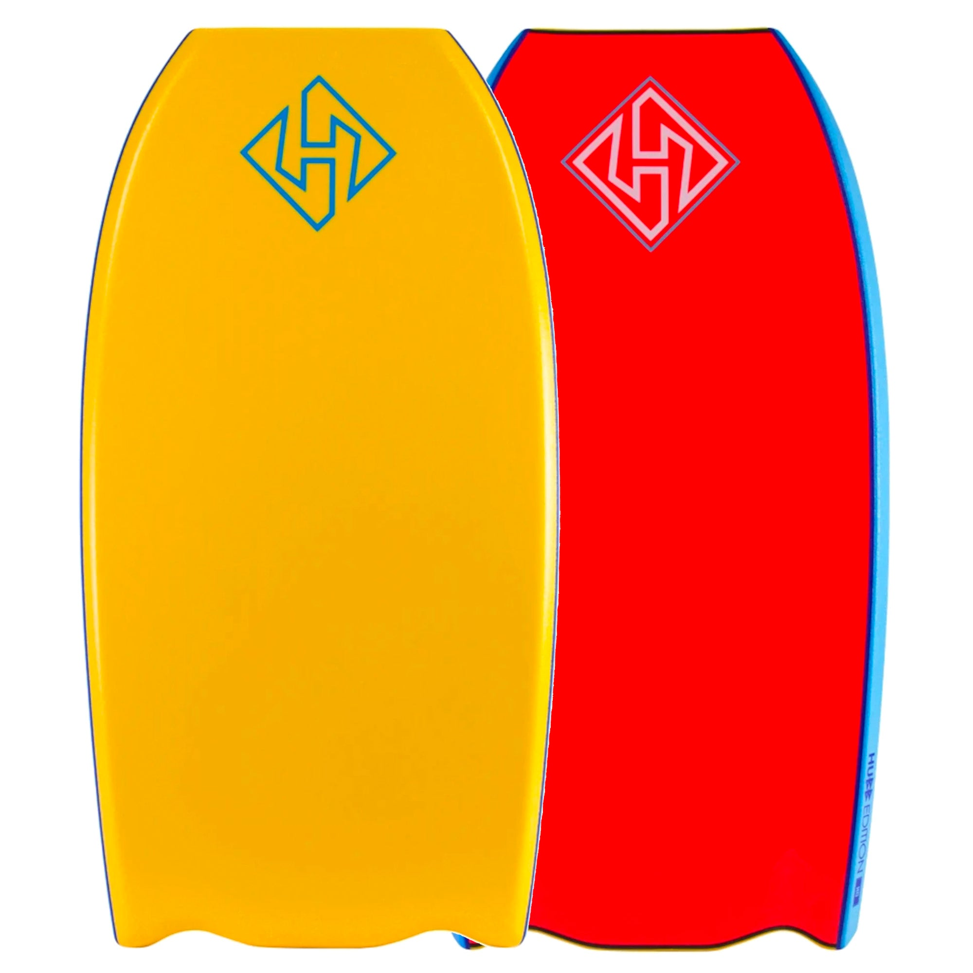 "Hubb PP Pro Bat-Tail 41"" Bodyboard - Orange/Red"