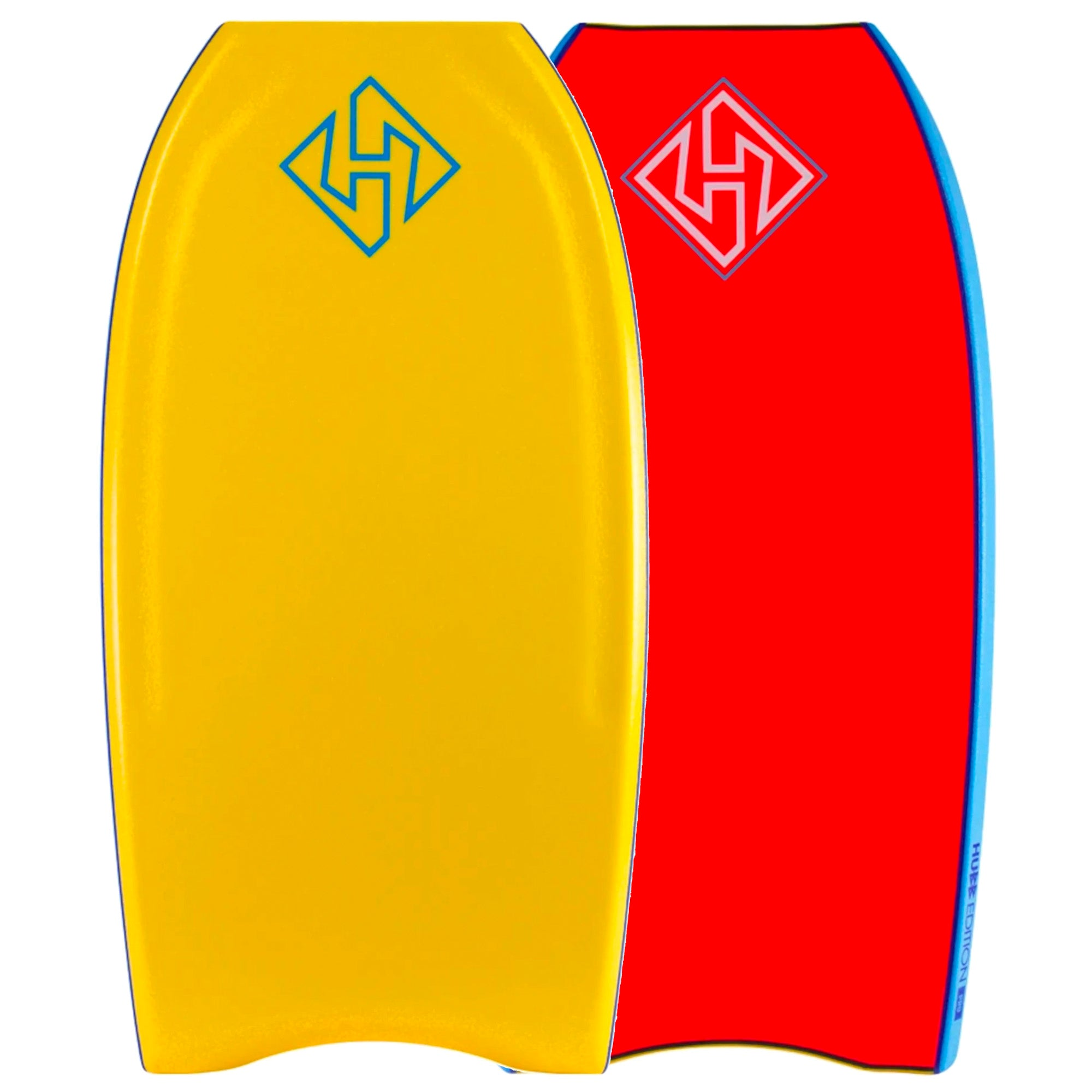 Hubboards Hubb PP PRO Crescent Tail 42'' Bodyboard - Orange/Red