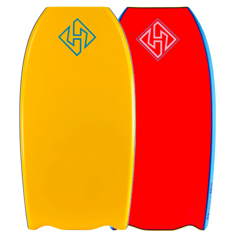 Hubboards Hubb PP HD Bat-Tail 41.5'' Bodyboard - Orange/Red