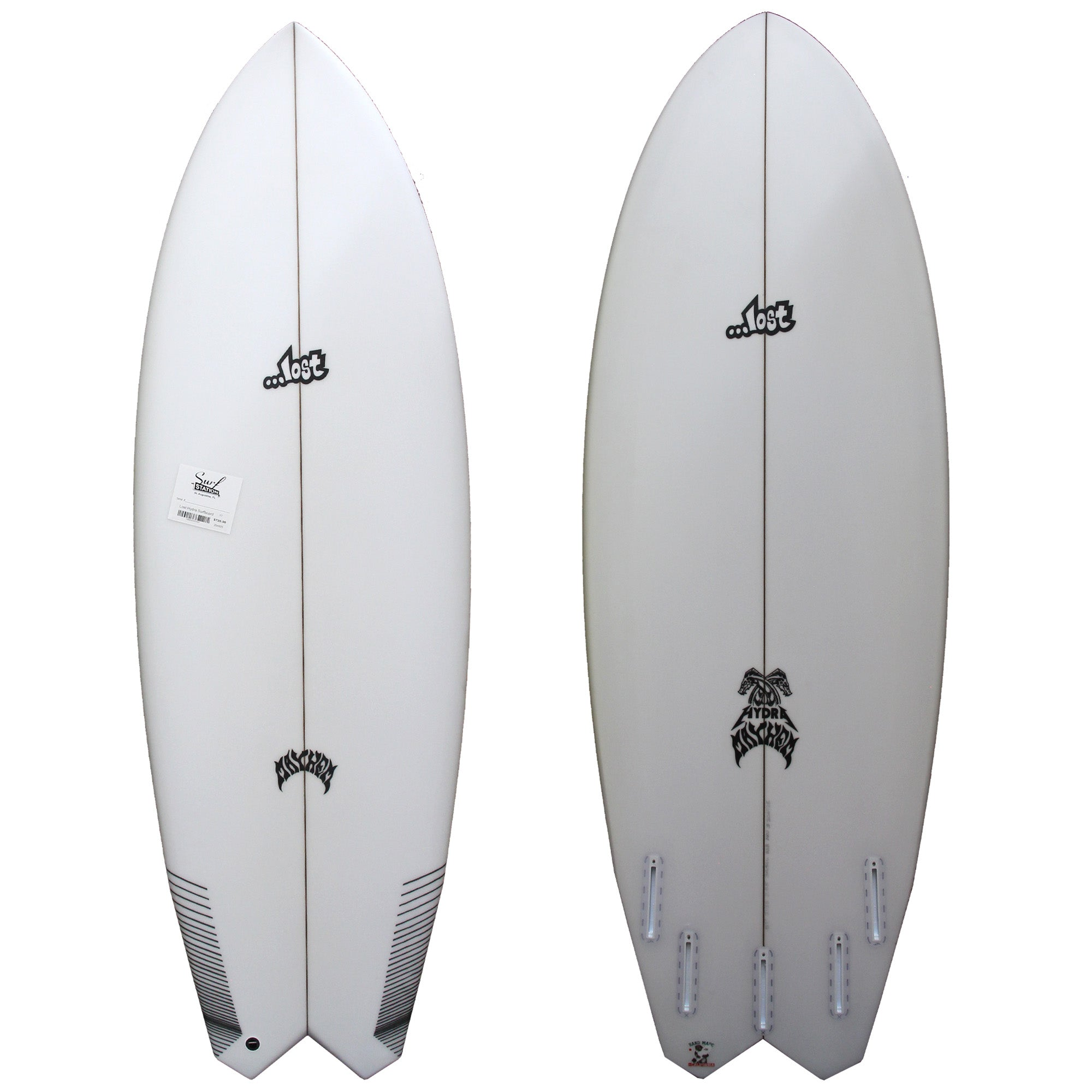 Lost Hydra Surfboard - Futures