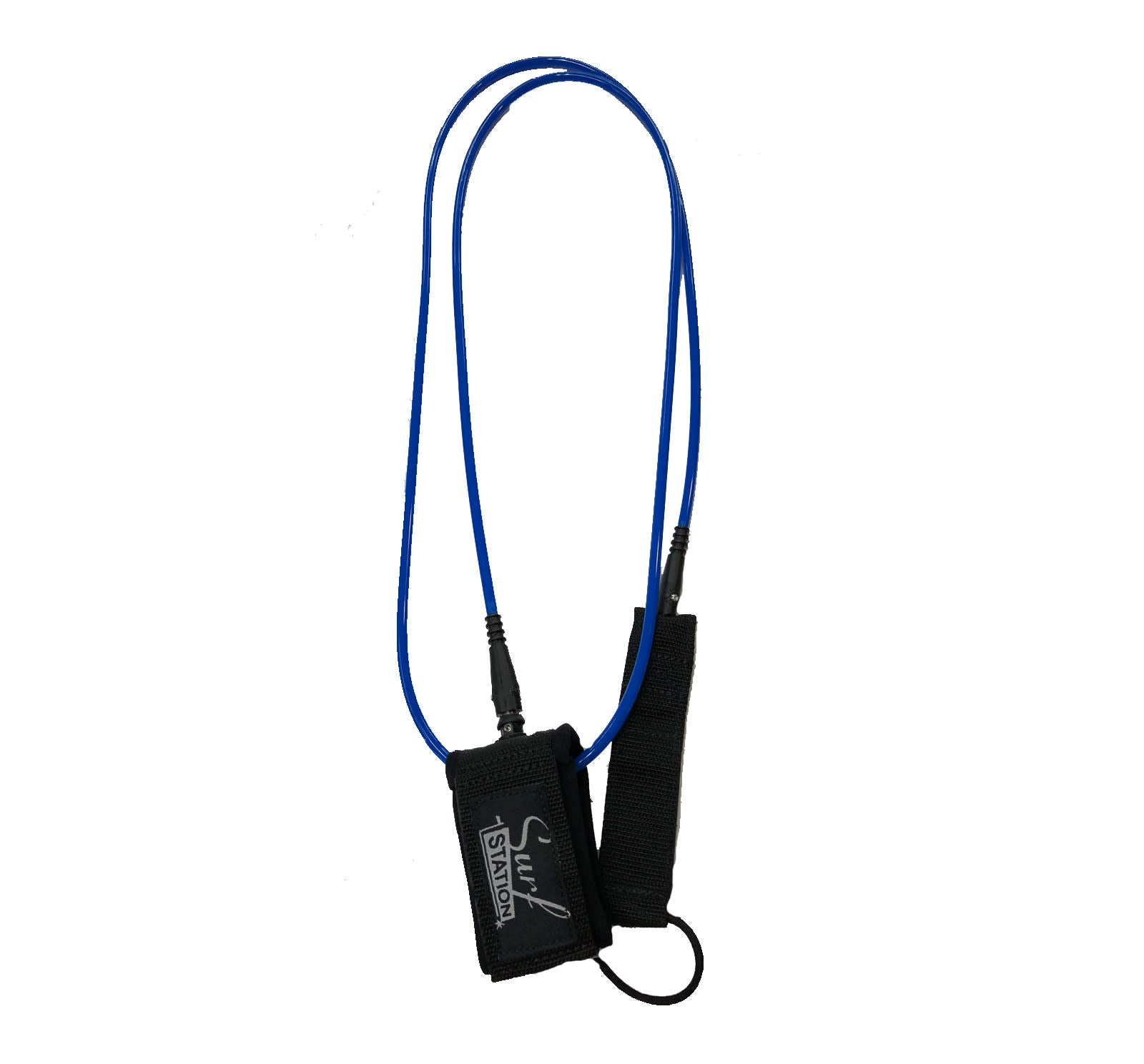 Surf Station Signature Regular 7' Surfboard Leash - Dark Blue