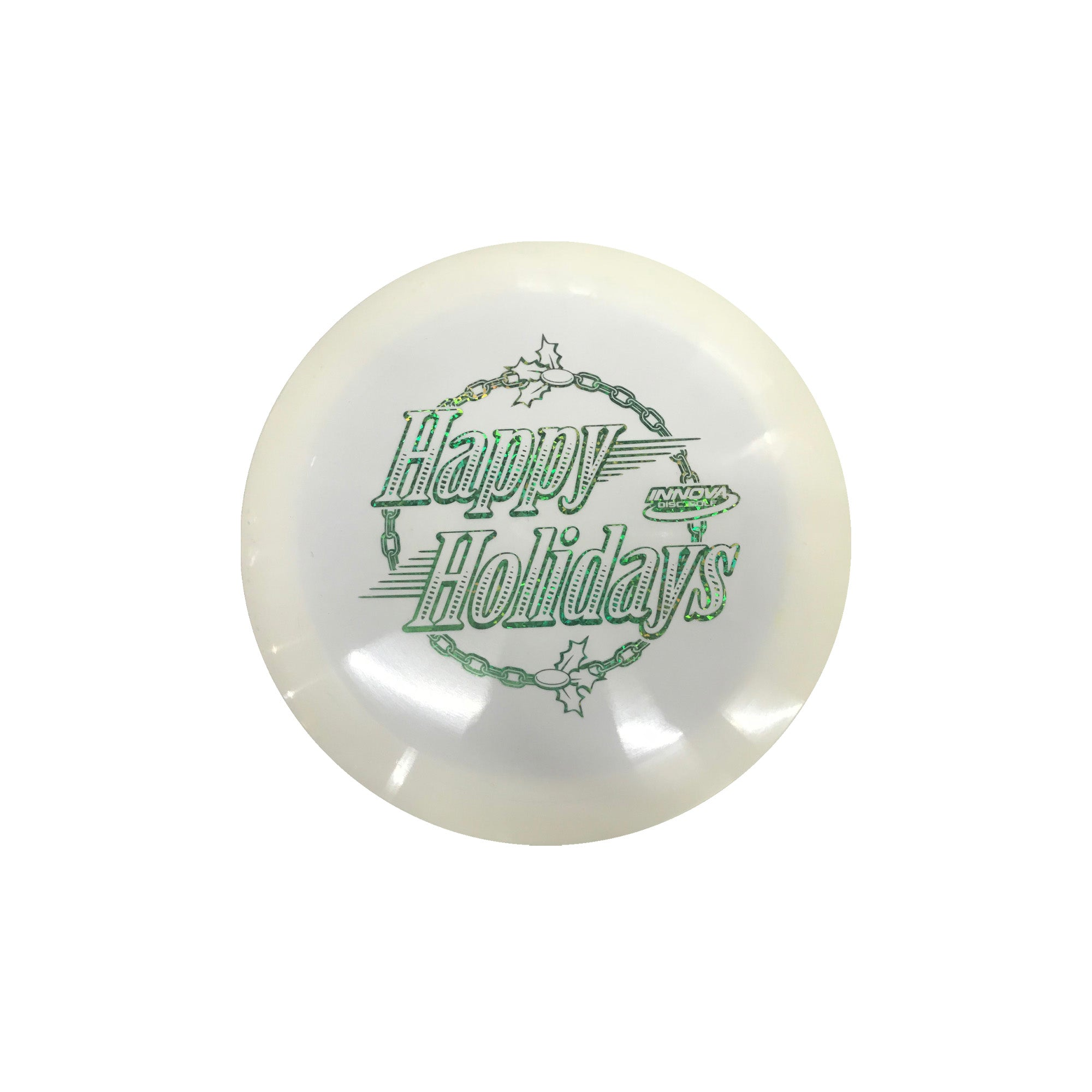 Innova Star Firestorm Holiday Golf DiscInnova Star Firestorm Holiday Golf Disc Green/White