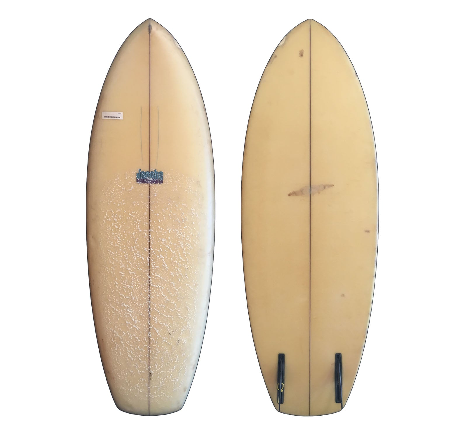 Jacobs Twin Fin 5'10 Collector Surfboard