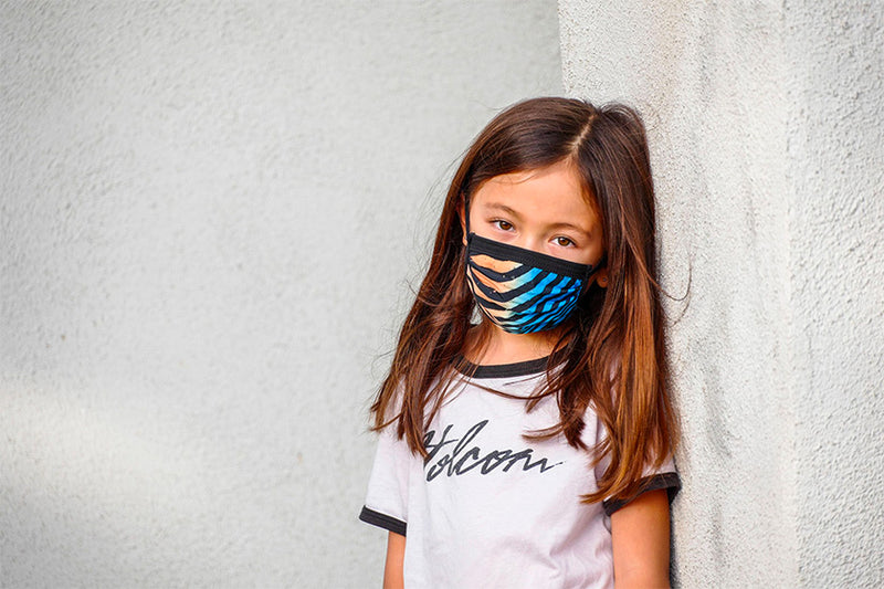Volcom Youth Face Mask - Rincon Blue
