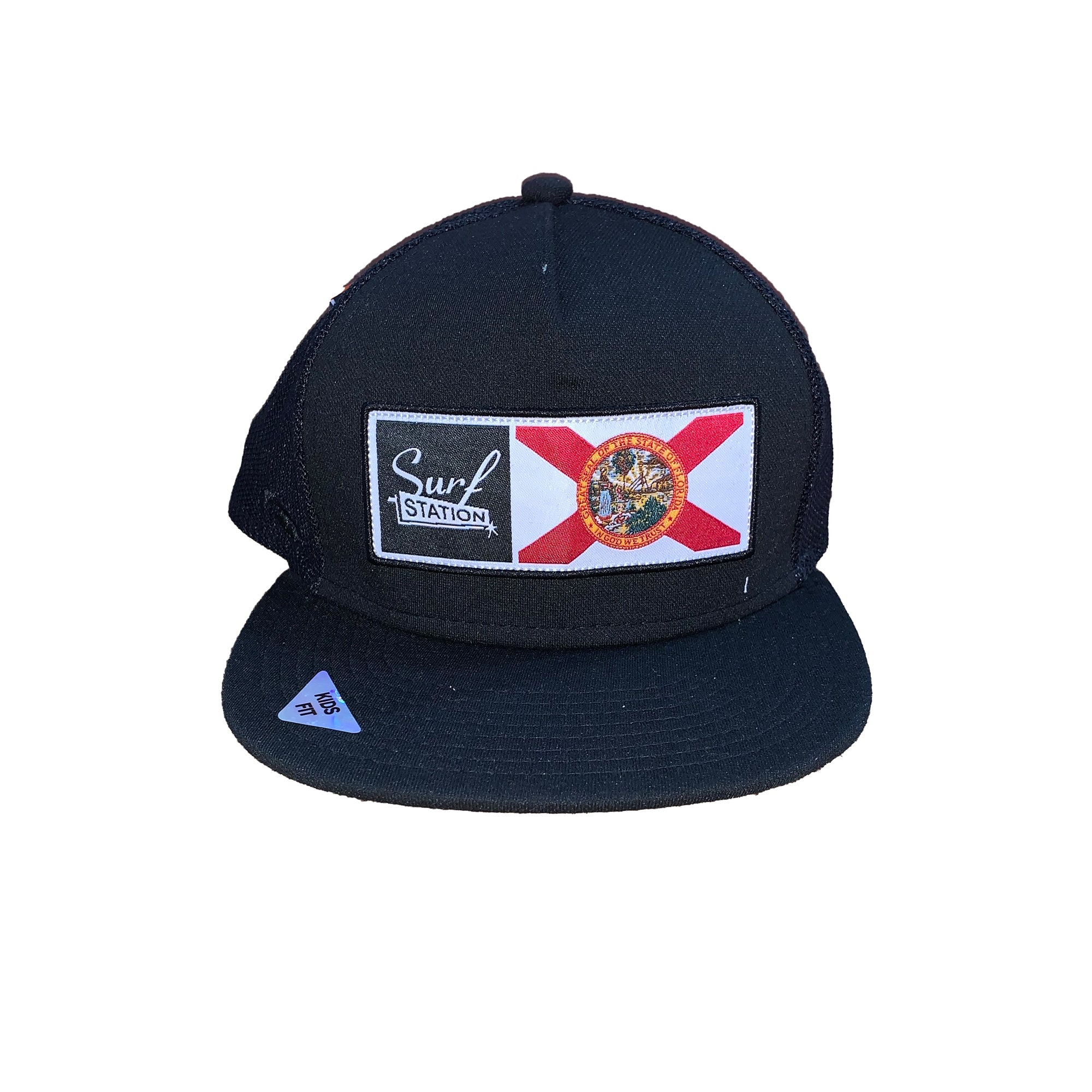 Surf Station X Florida Kid's Trucker Hat