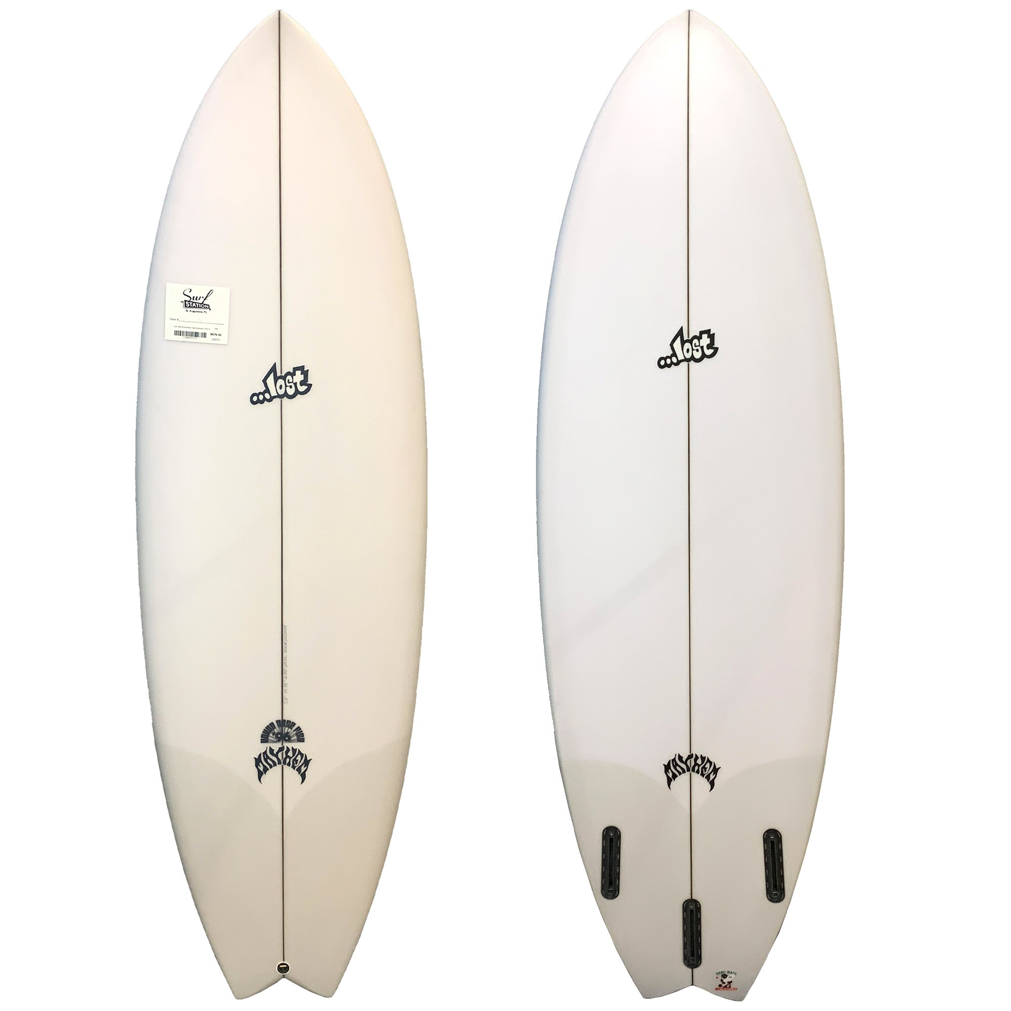 Lost Round Nose Fish '96 Surfboard - Futures