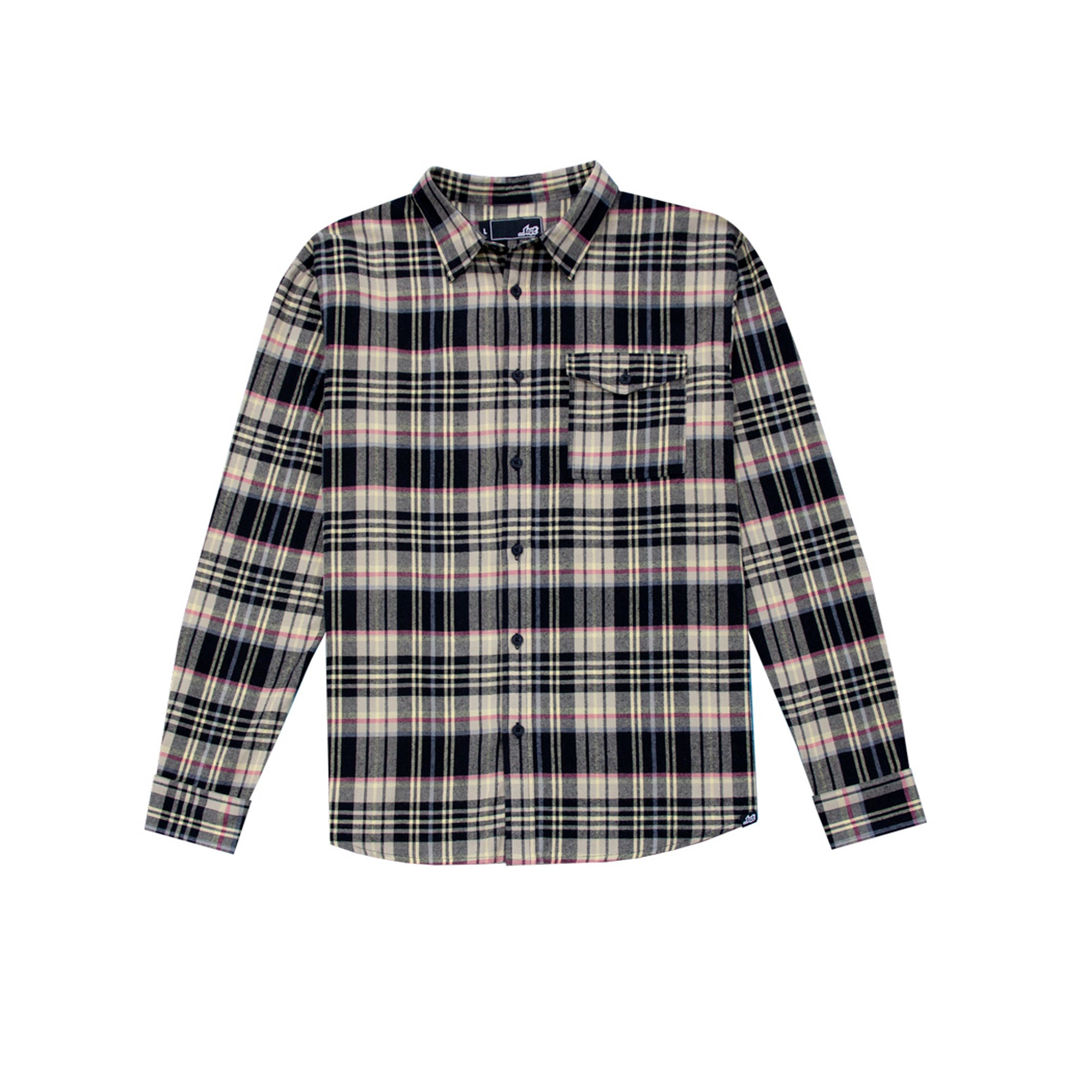 Lost Frenzy Men's Flannel Shirt