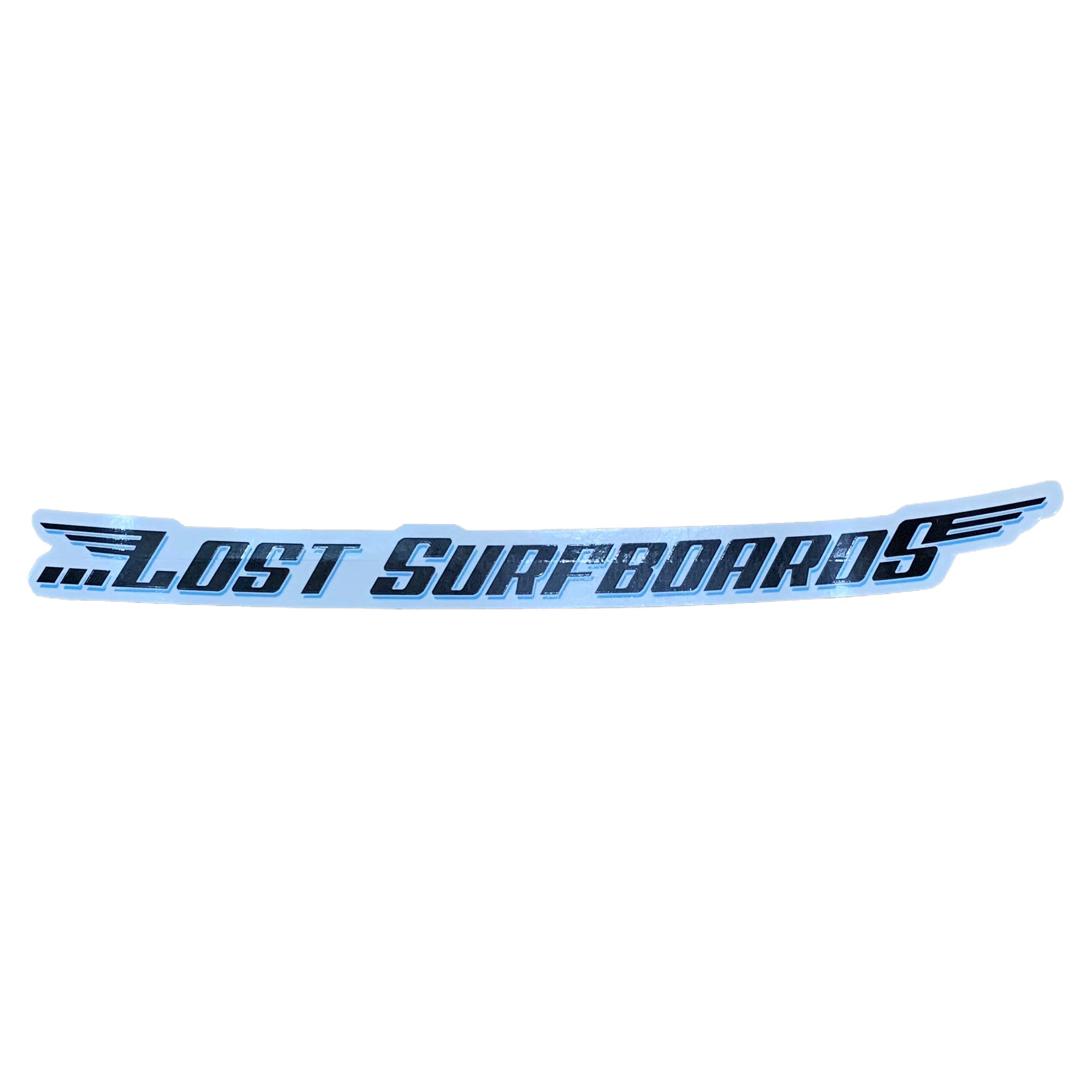 Lost Surfboard Sticker