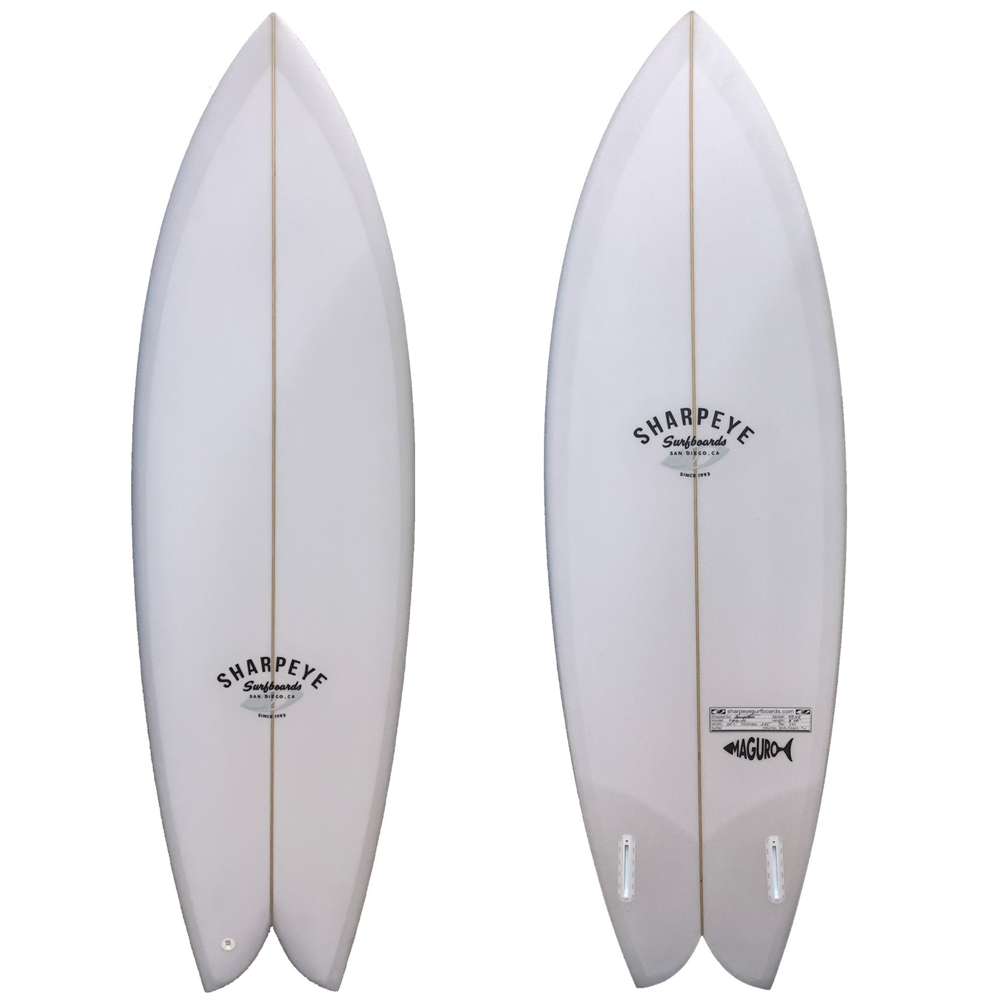 Sharp Eye Maguro Surfboard - Futures