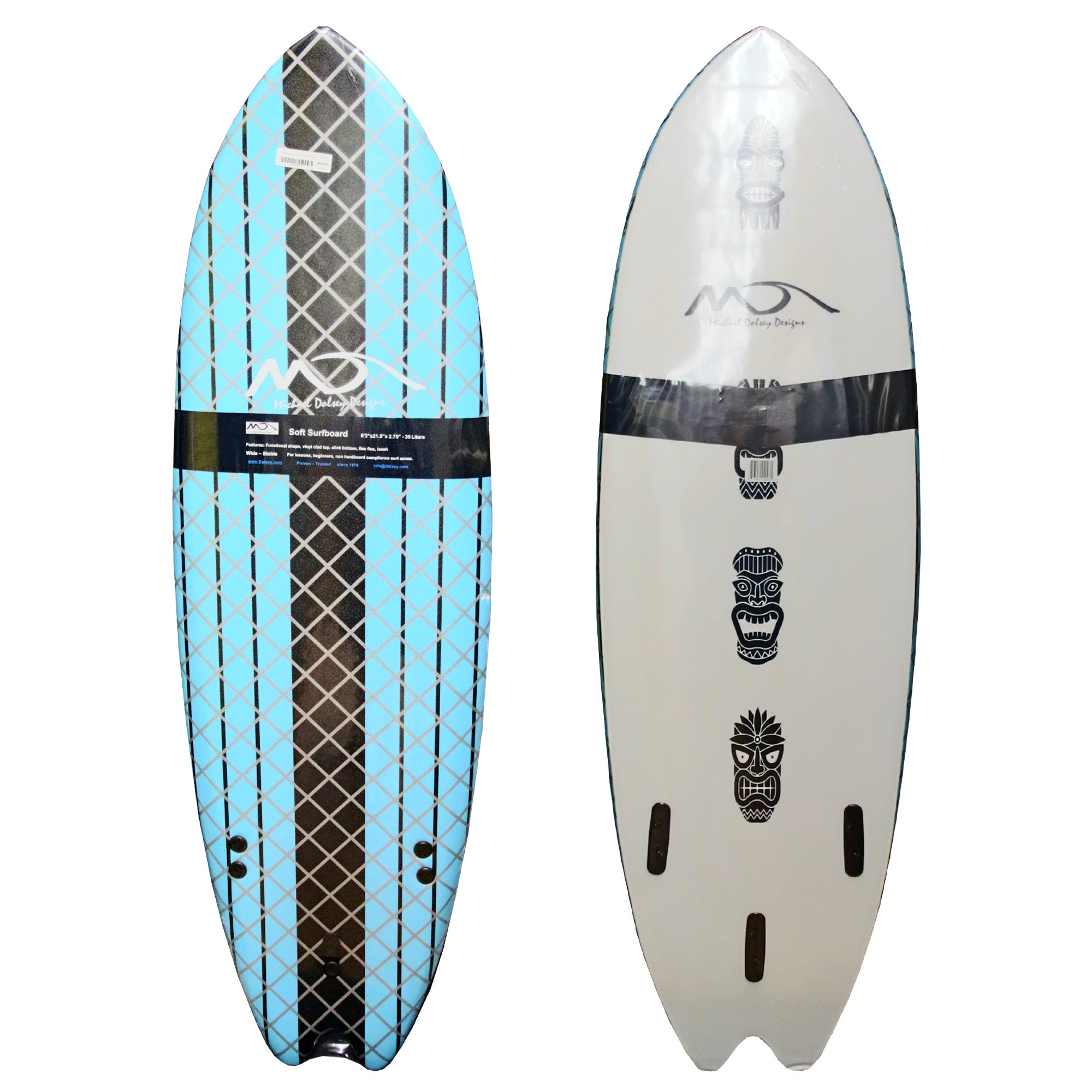 Michael Dolsey Fish 6'2 Soft Surfboard