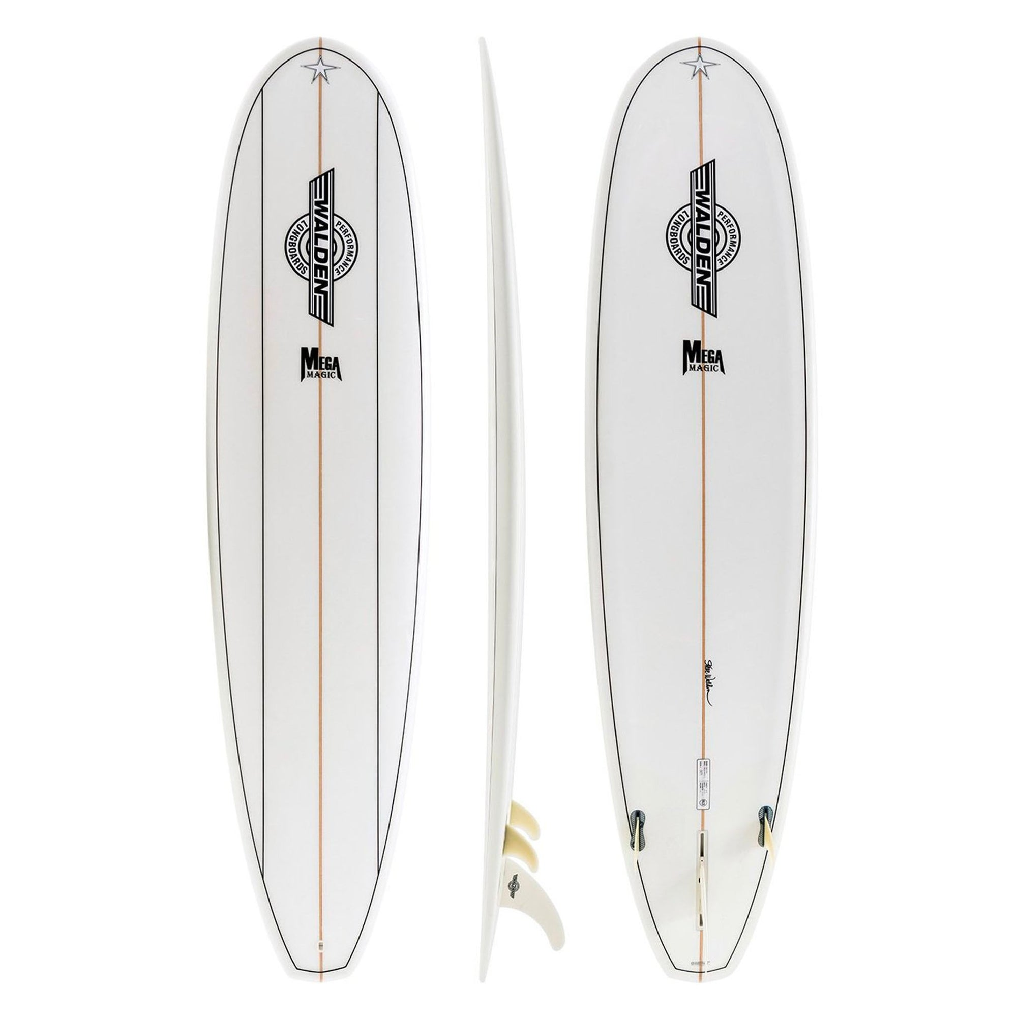 Walden Mega Magic 2 Surfboard - SLX