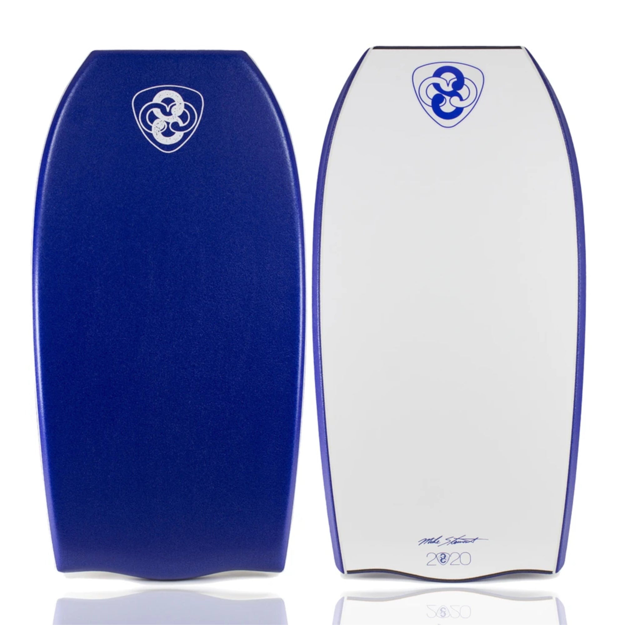 "Mike Stewart EZero 42"" Bodyboard - Dark Blue/Dark Blue/White"