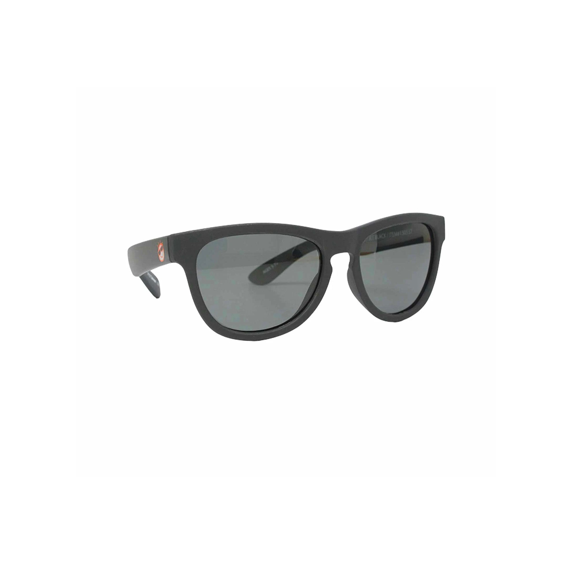 Mini Shades Classic Kid's Polarized Sunglasses (Ages 3-7) - Jet Black