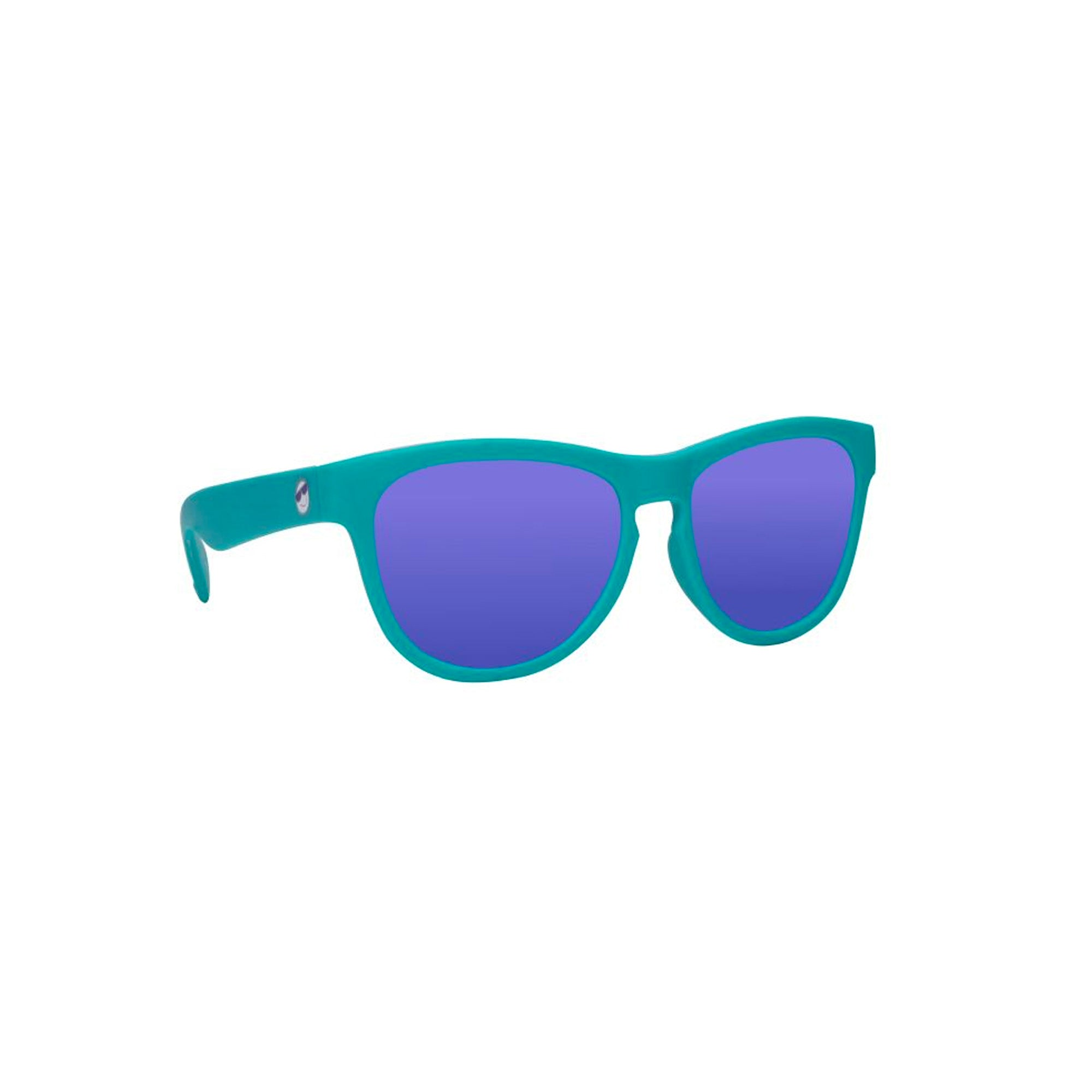 Mini Shades Classic Kid's Polarized Sunglasses (Ages 8-12+) - Totally Teal