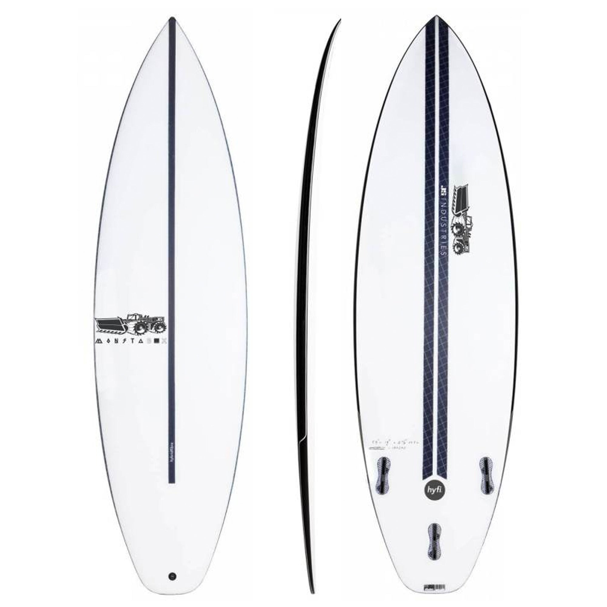 JS Industries Monsta Box 2020 Squash Tail Surfboard - HYFI