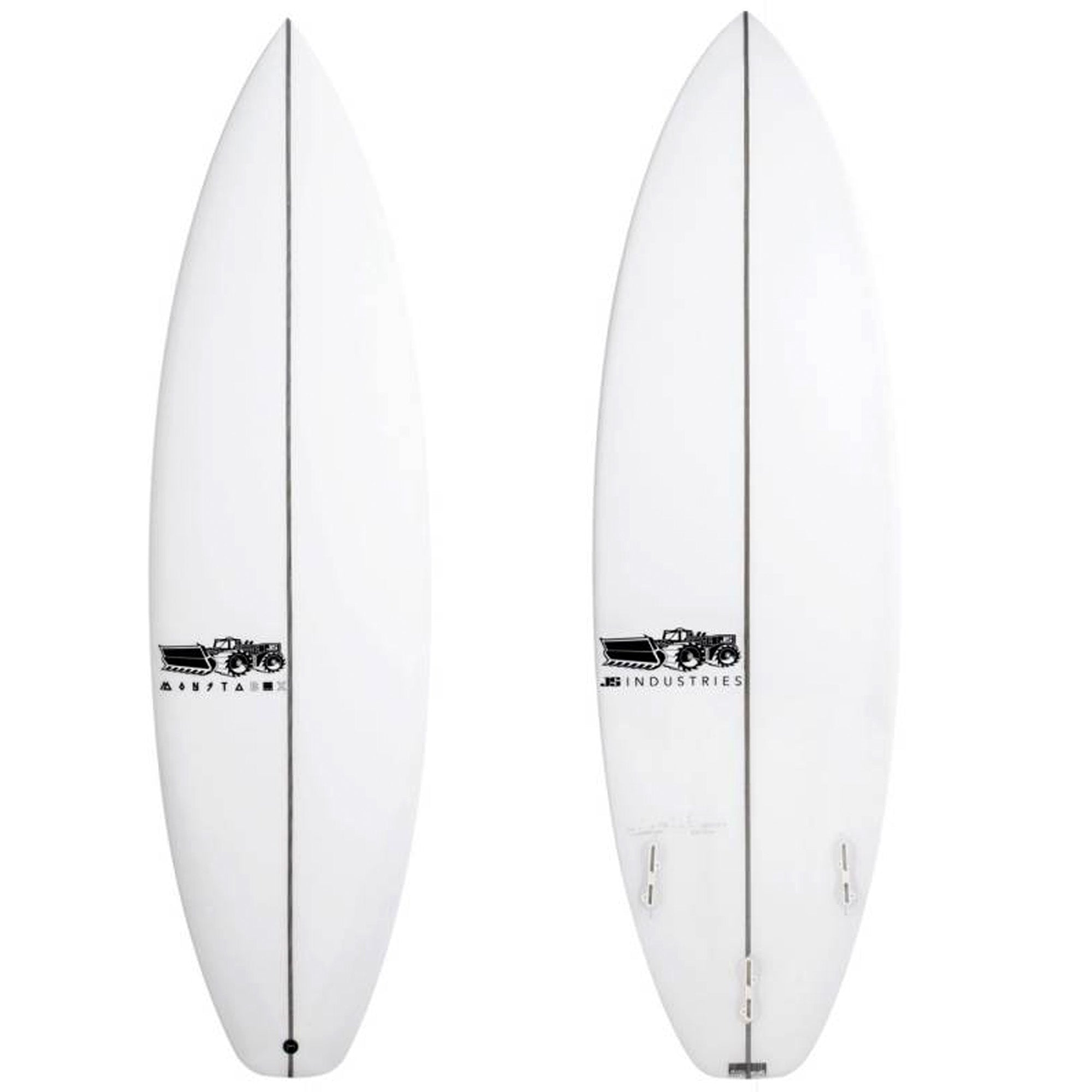 JS Monsta Box 2020 Squash Tail Surfboard - FCS II