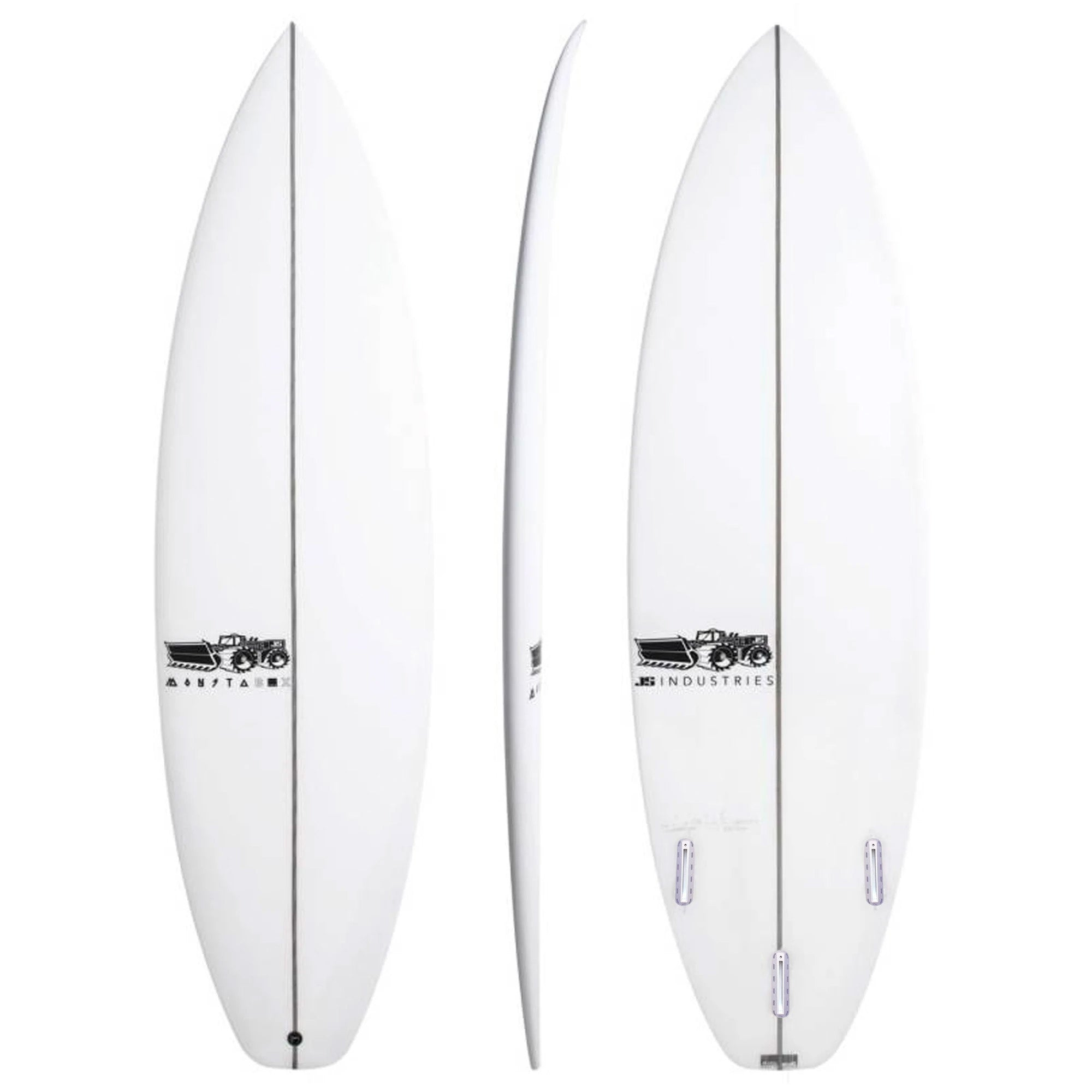 JS Monsta Box 2020 Squash Tail Easy Rider Surfboard - Futures