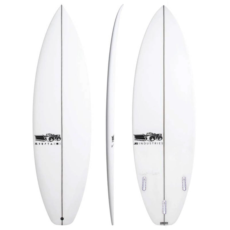 JS Industries Monsta Box 2020 Squash Tail Easy Rider Surfboard