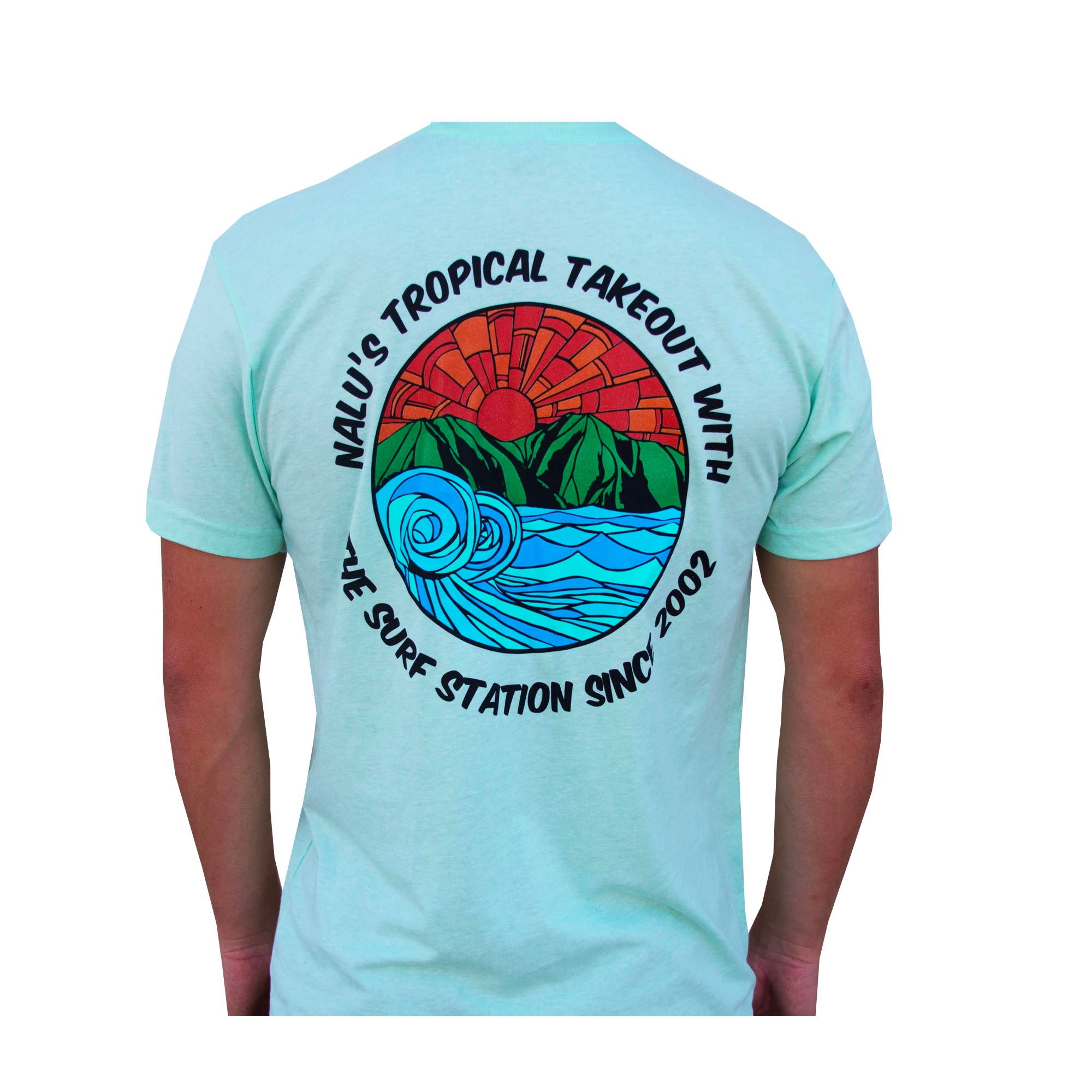 Surf Station Nalus Hawaii Men's S/S T-Shirt