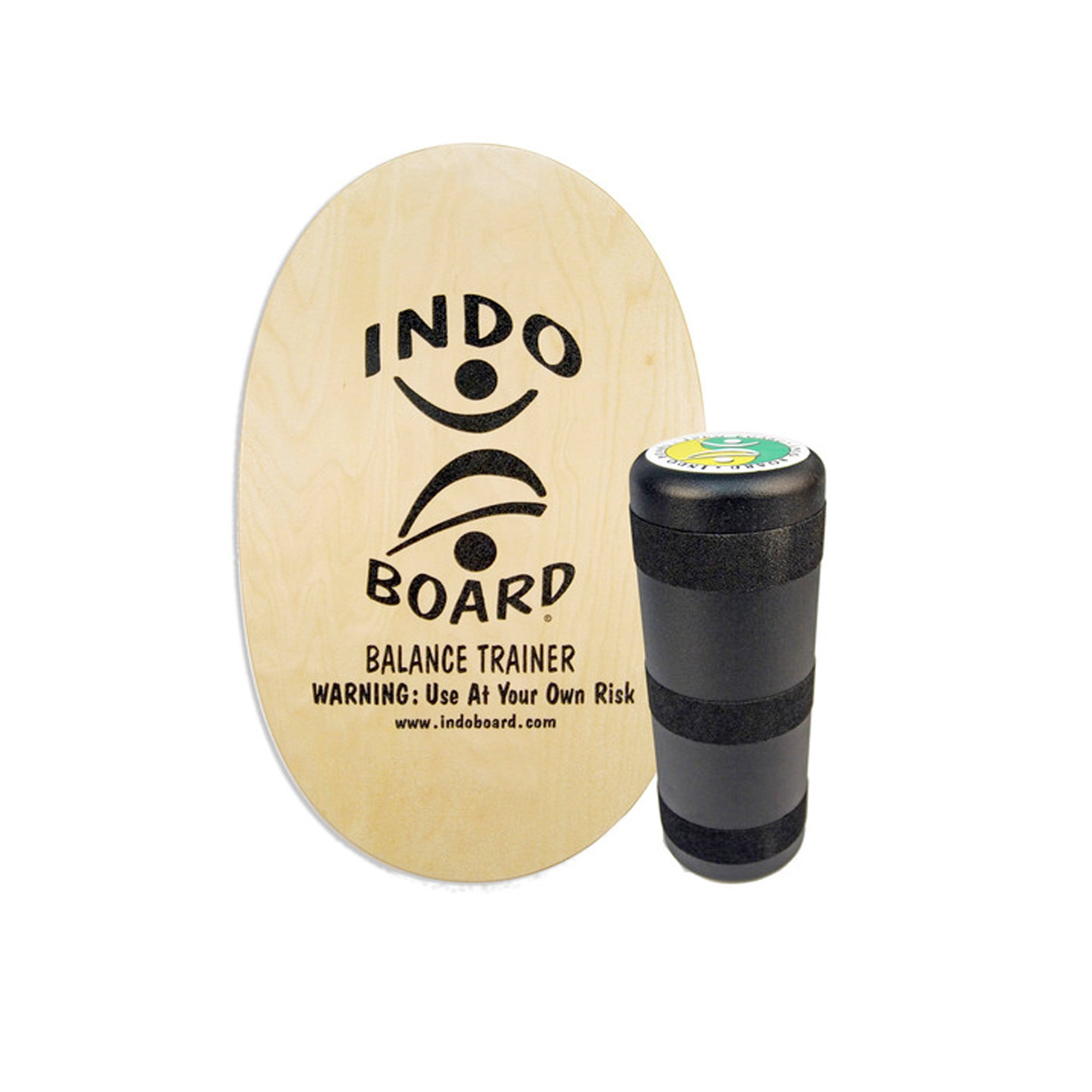 Indo Board Original Deck and Roller Kit - Natural