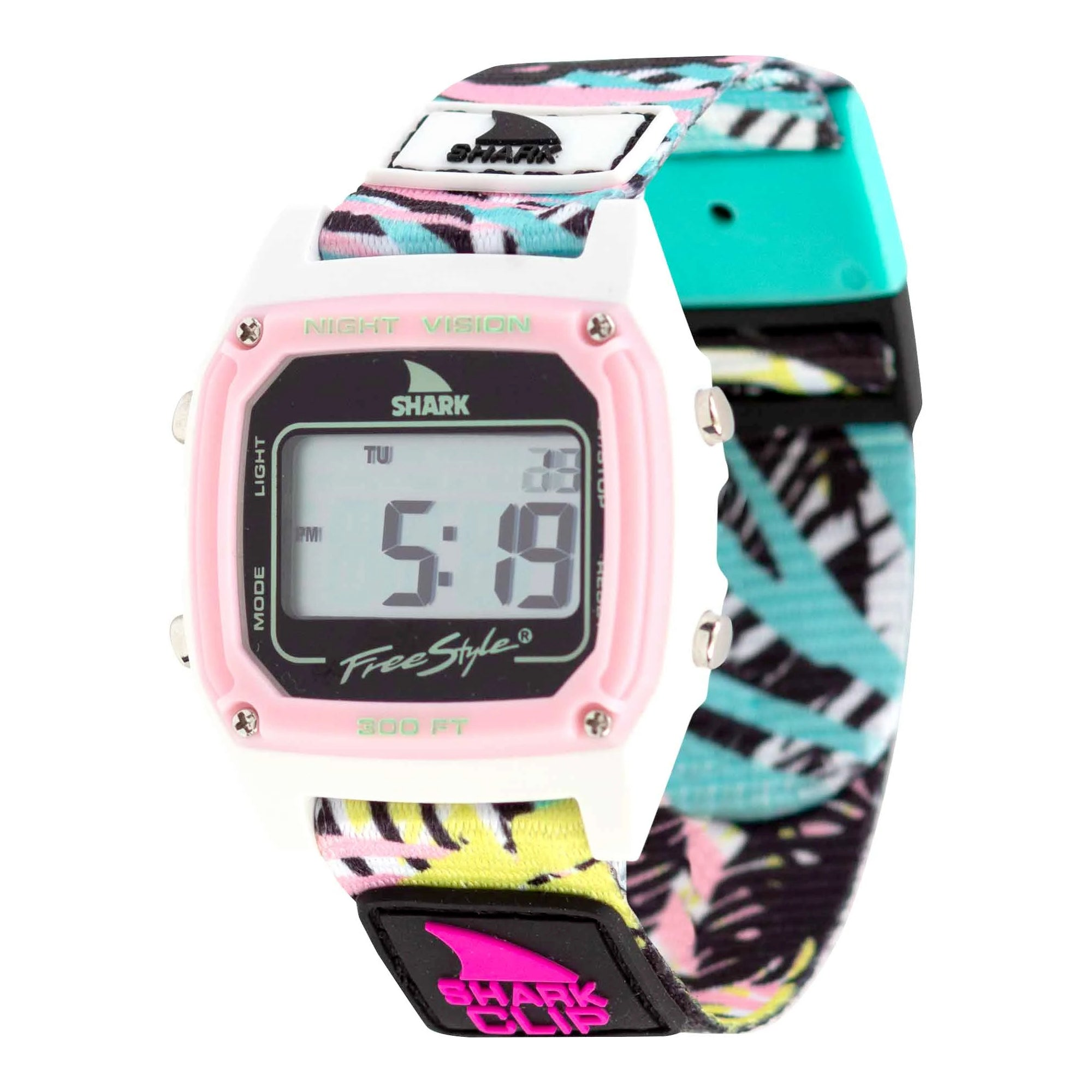 Freestyle Shark Classic Clip Women's Watch - Pink Palm