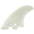 FCS II Power Twin + Stabilizer Clear Twin Surfboard Fins
