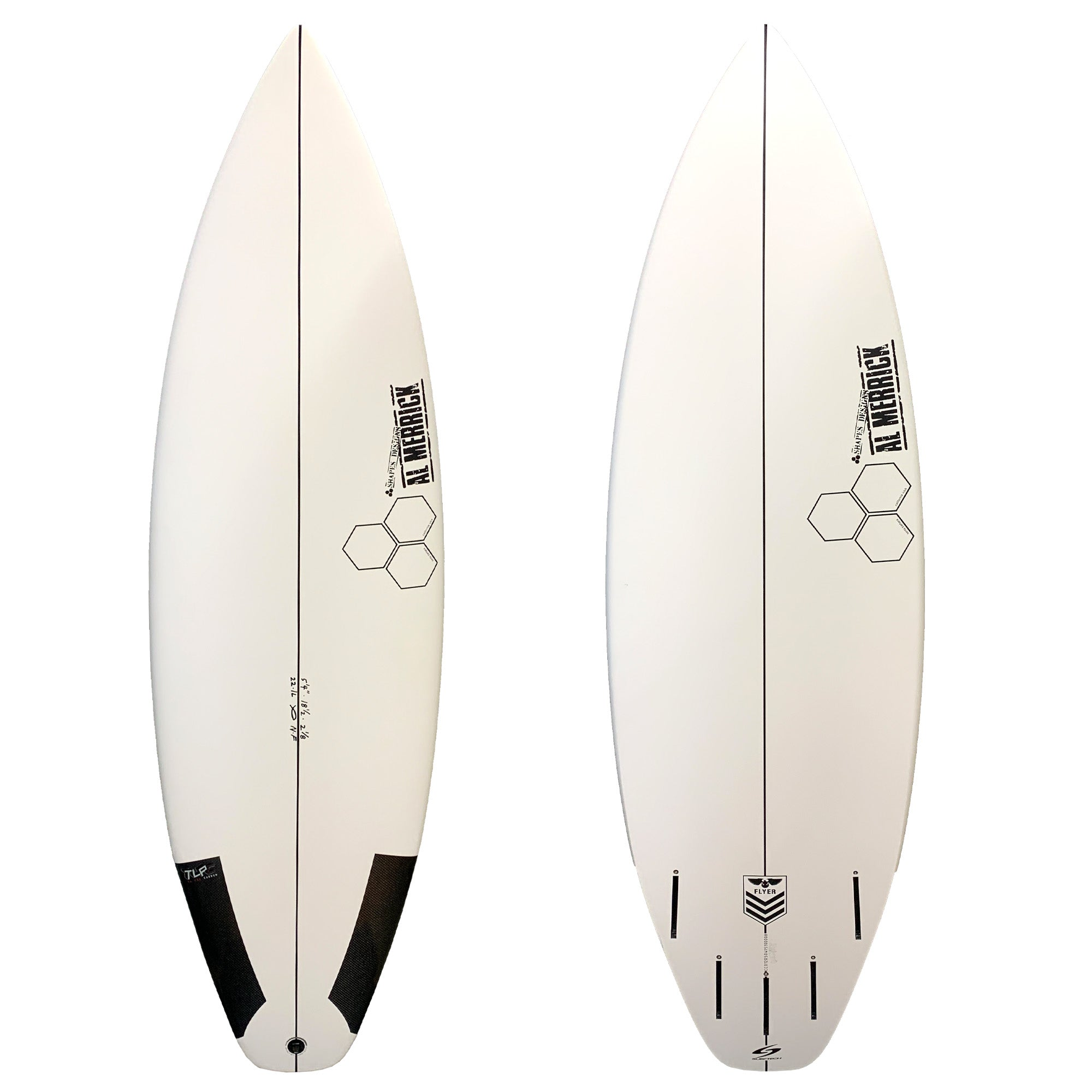 Channel Islands New Flyer TL Pro Carbon Surfboard - Futures