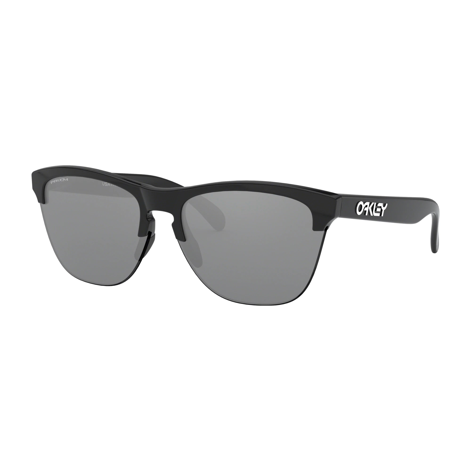 Oakley Frogskins Lite Men's Sunglasses - Polished Black Frame/Prizm Black Lens